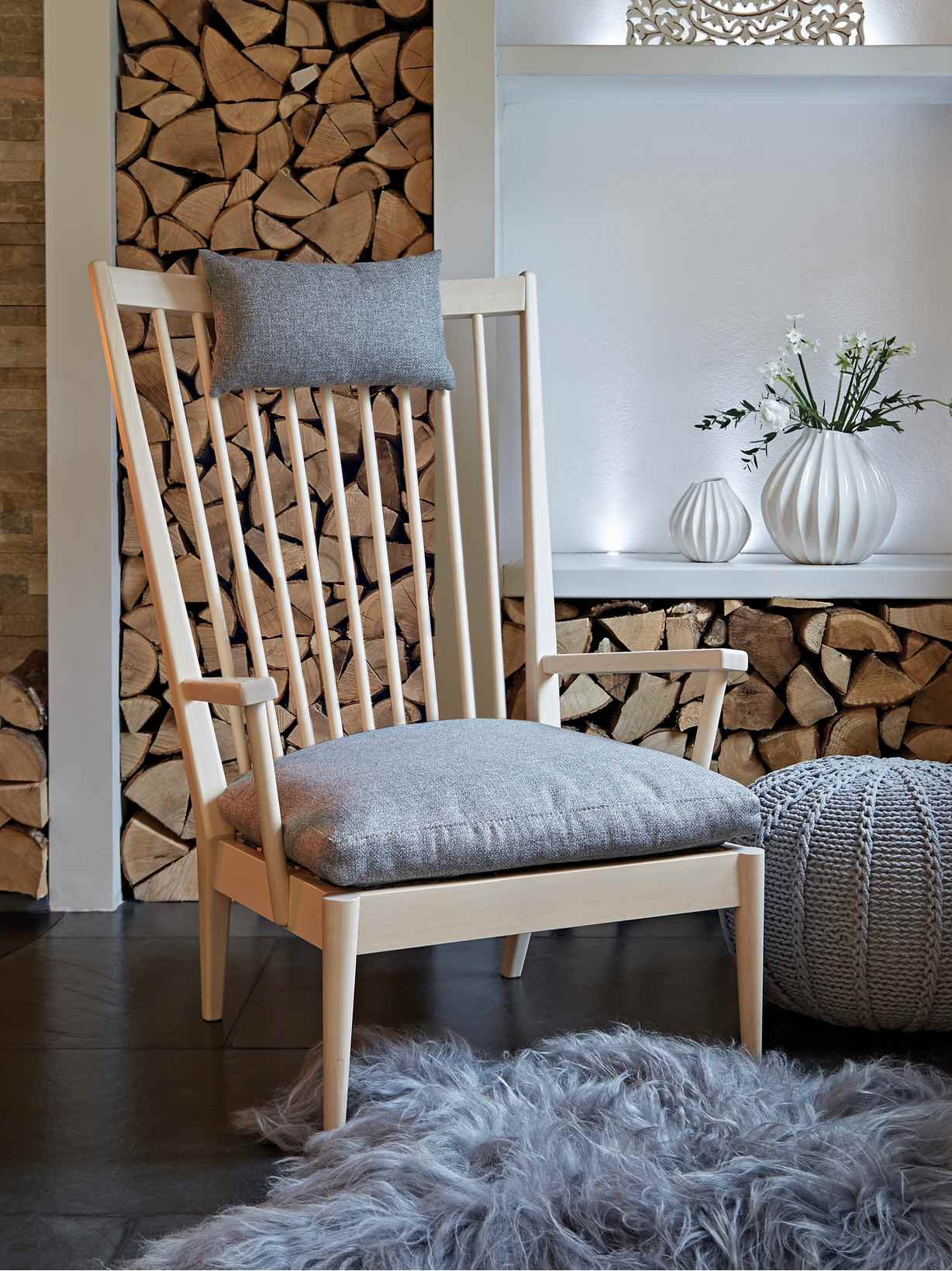 Nordic House Lotta Chill Out Chair - Birch