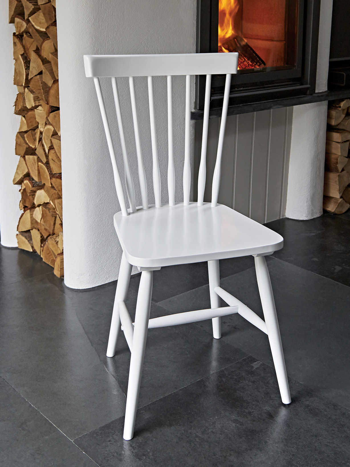 Nordic House Blom Dining Chairs - White