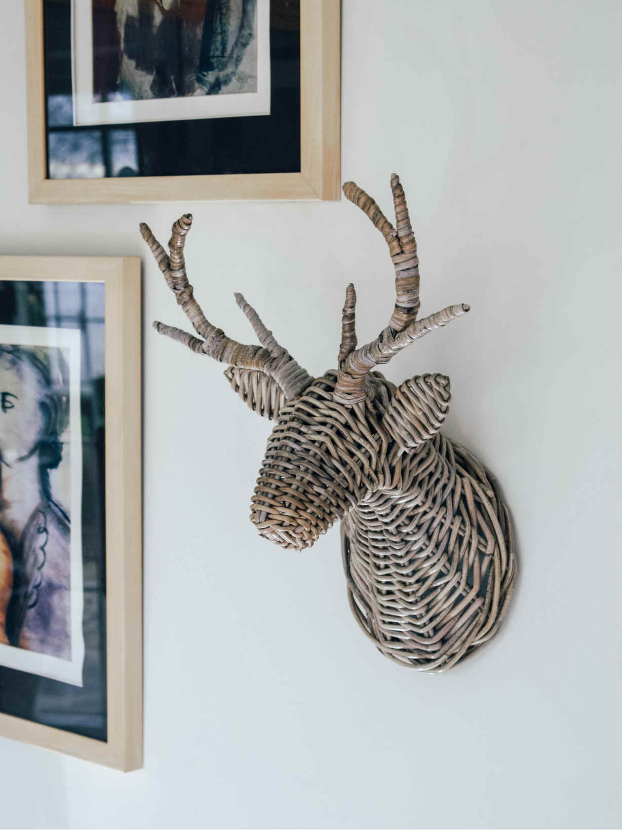 Nordic House Wall Mounted Stag's Head