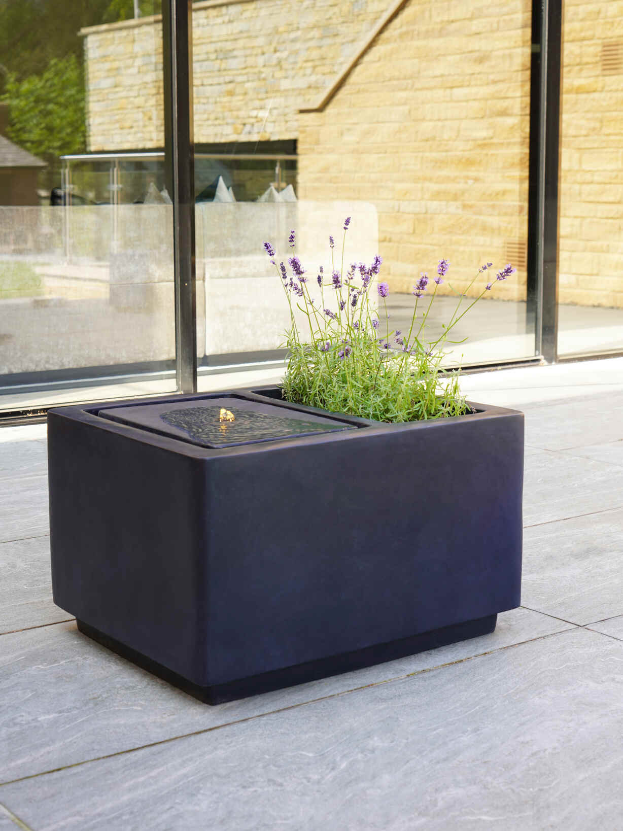 Nordic House Water Feature Planter