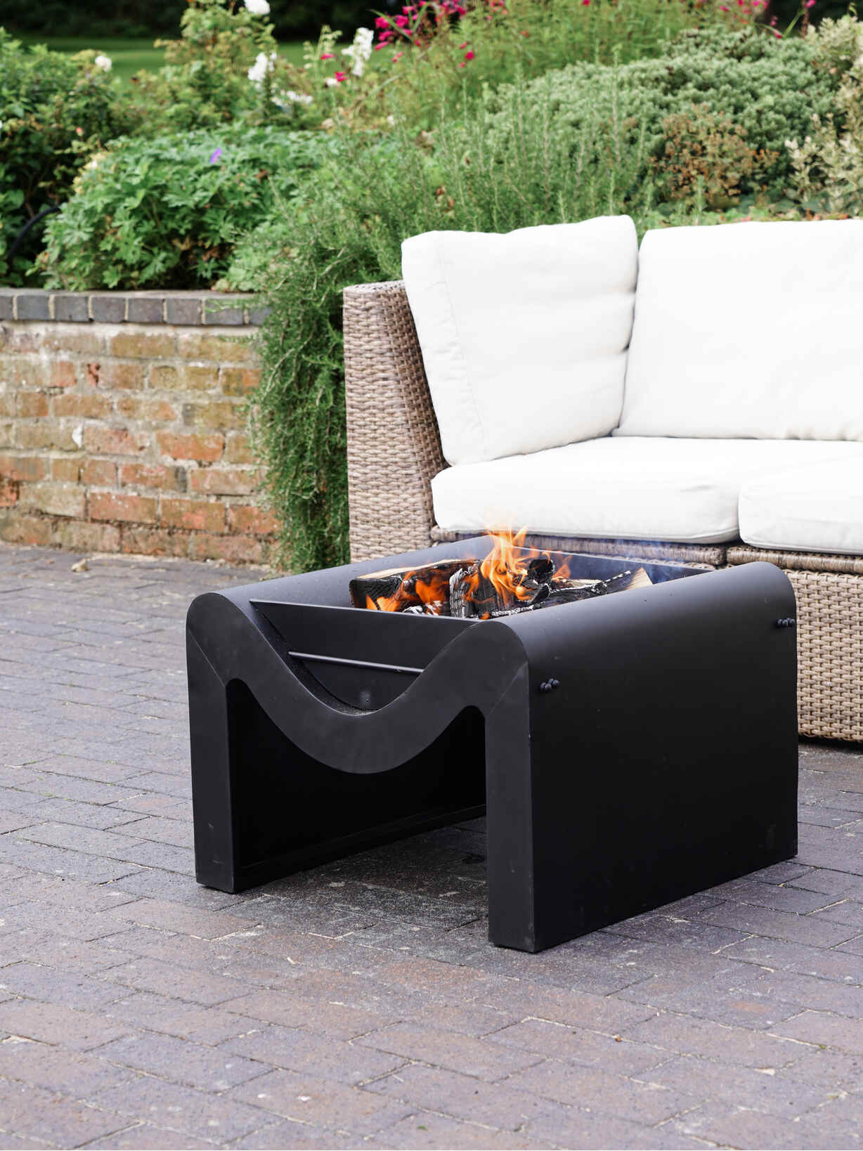 Nordic House Karlo Firepit with Grill