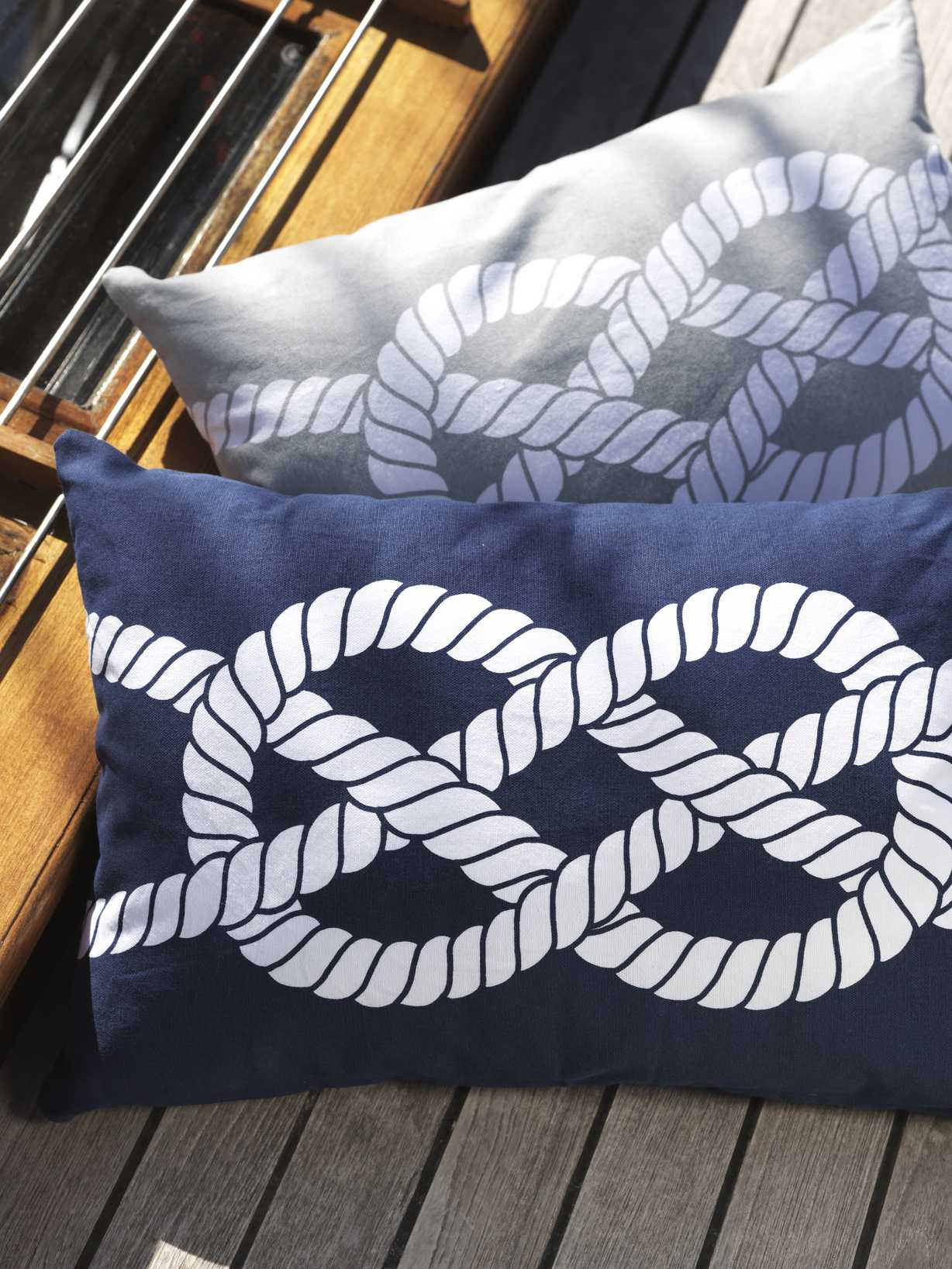 Nordic House Nautical Cushions - Knots