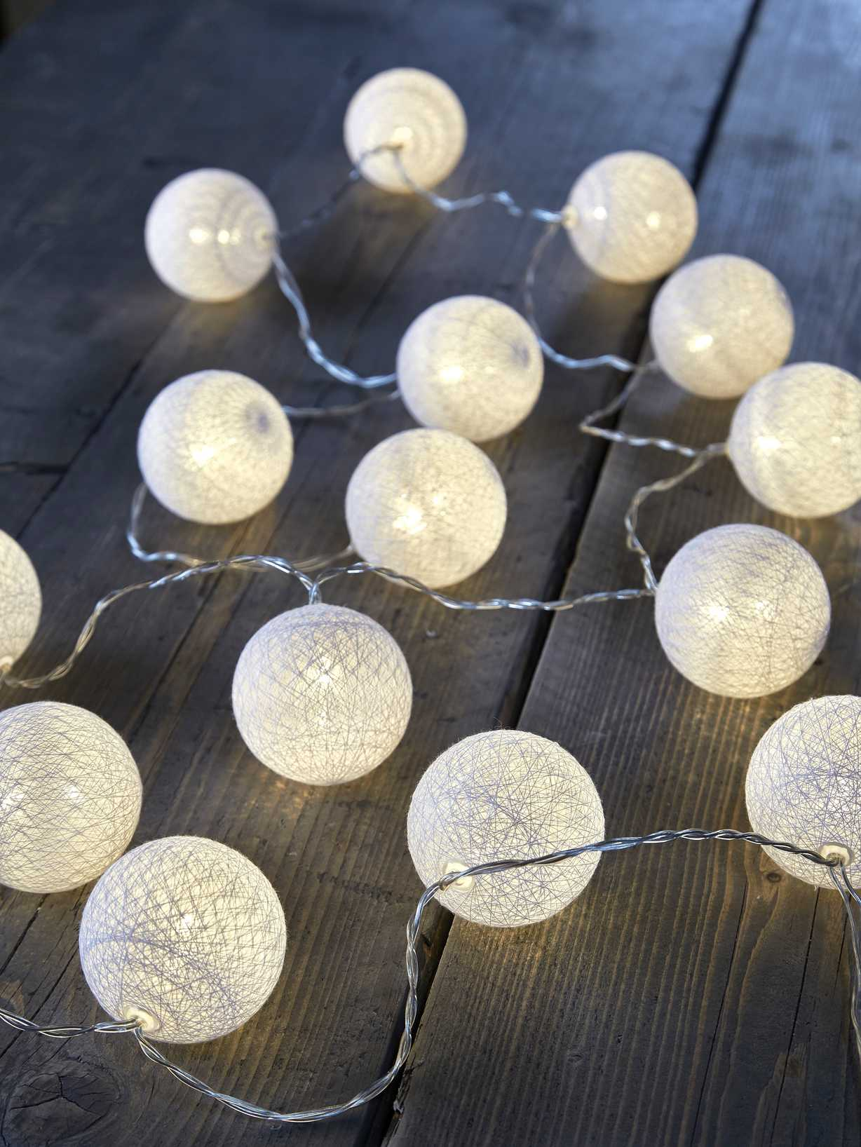 Nordic House White LED String Lights