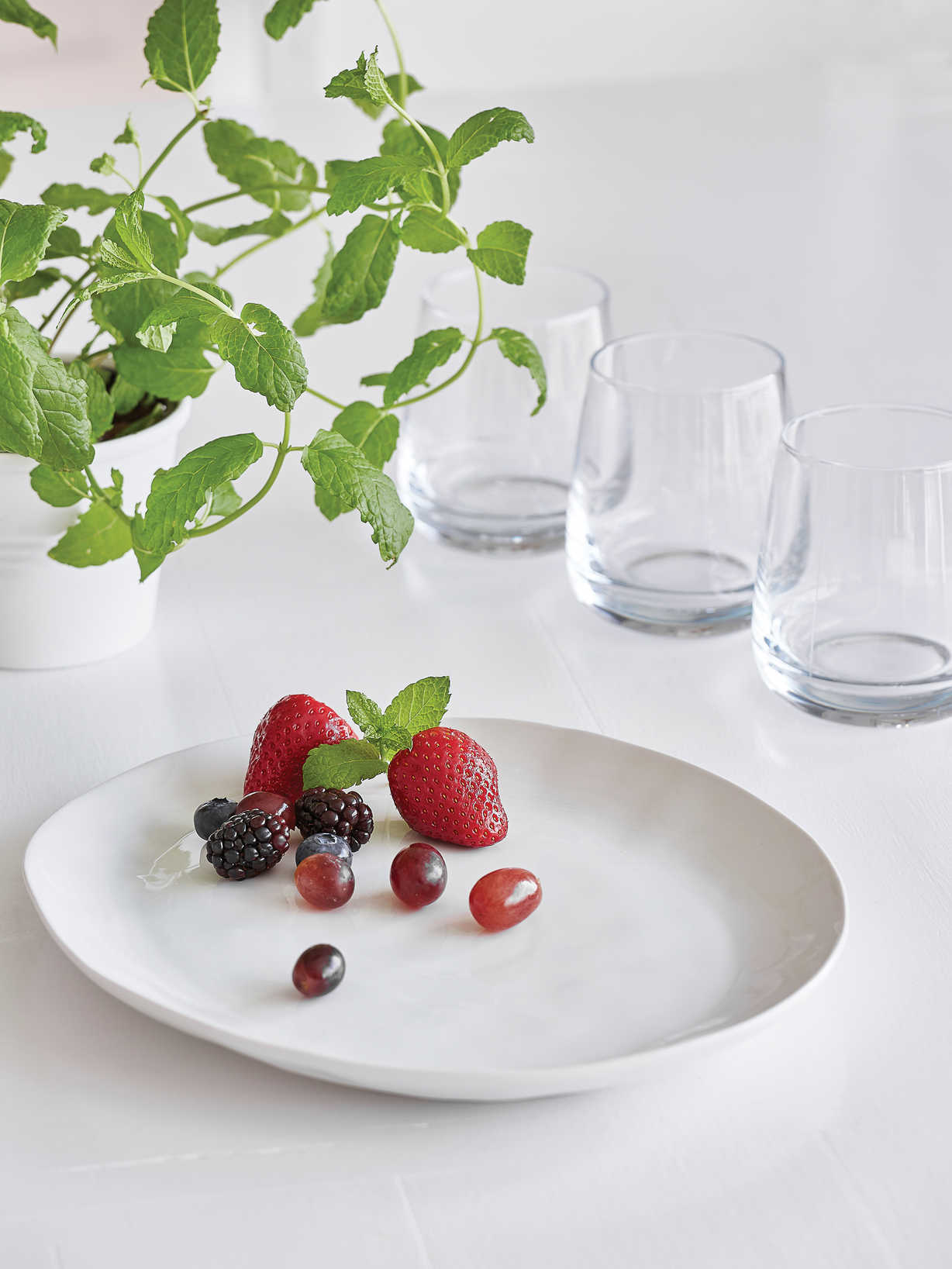 Nordic House Nordic Touch Oval Plate