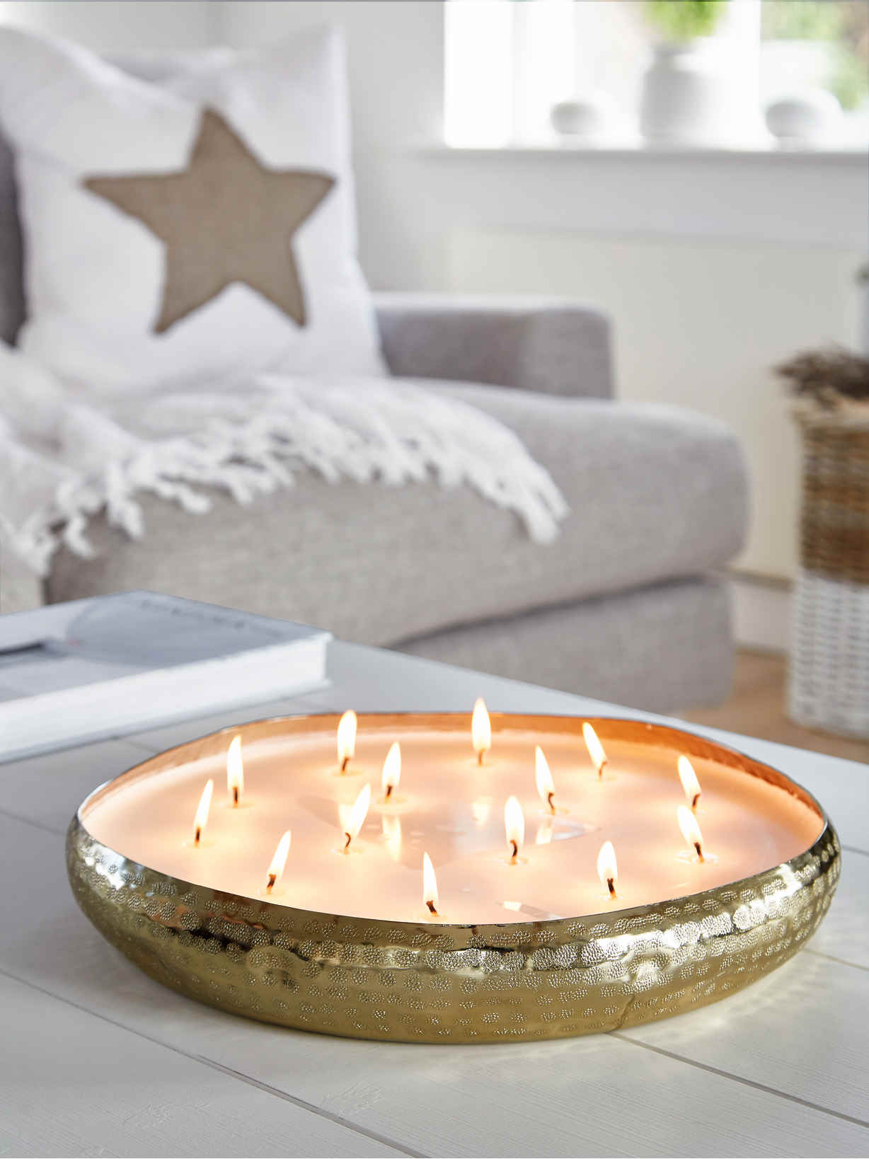 Nordic House Large Candle Centrepiece