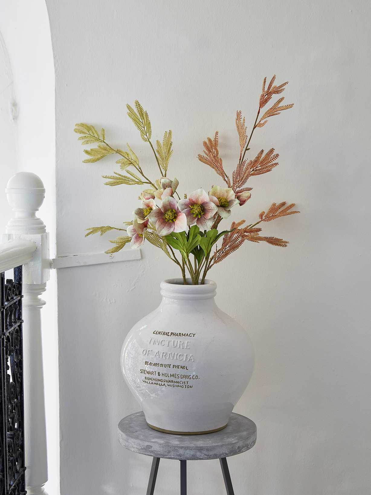 Nordic House Faux Flower Bouquet - Serenity