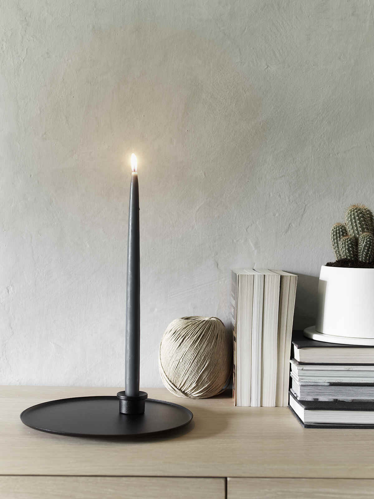 Nordic House Artisan Candle Holder Plate