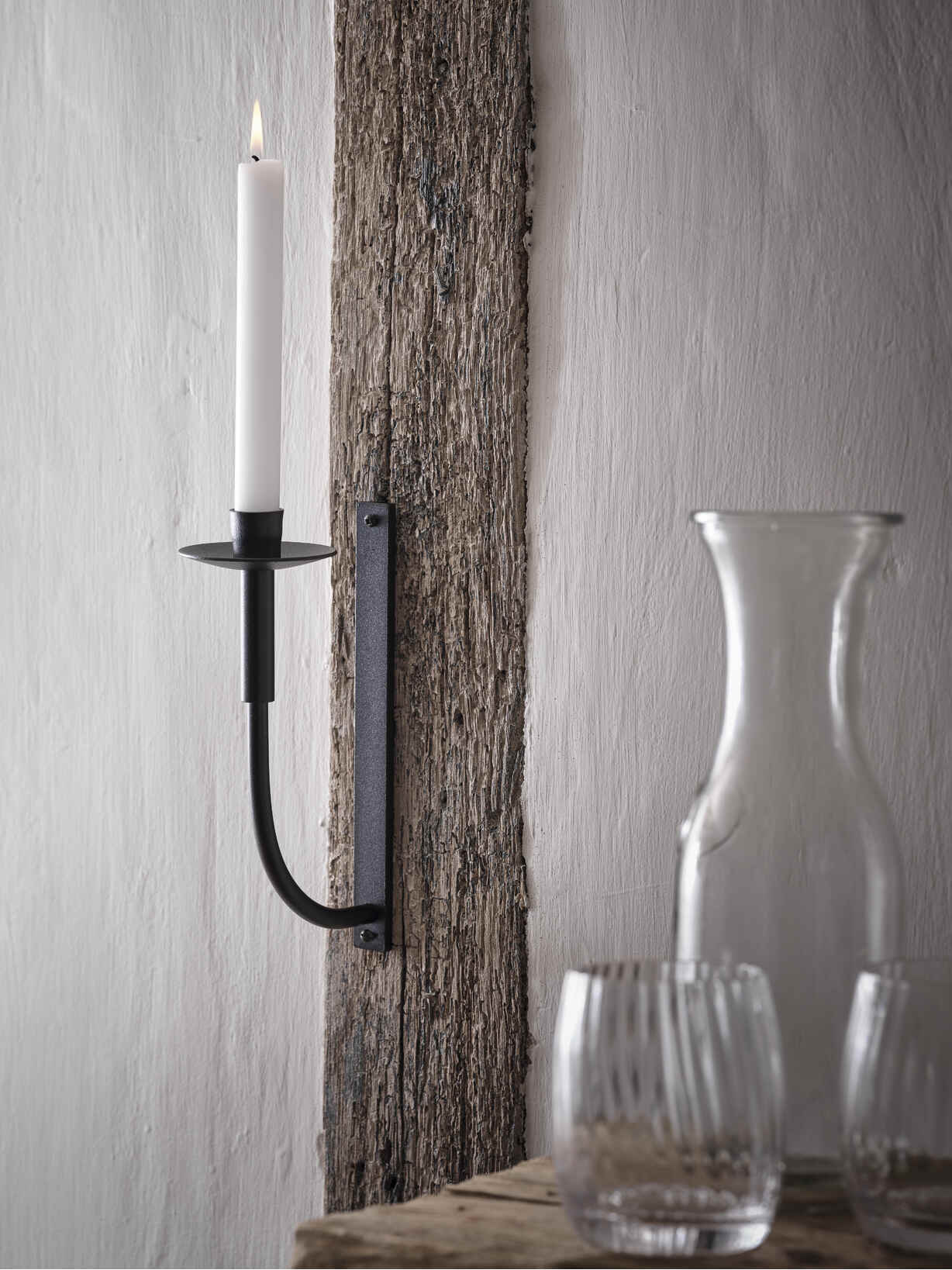 Nordic House Elegant Wall Candle Holder