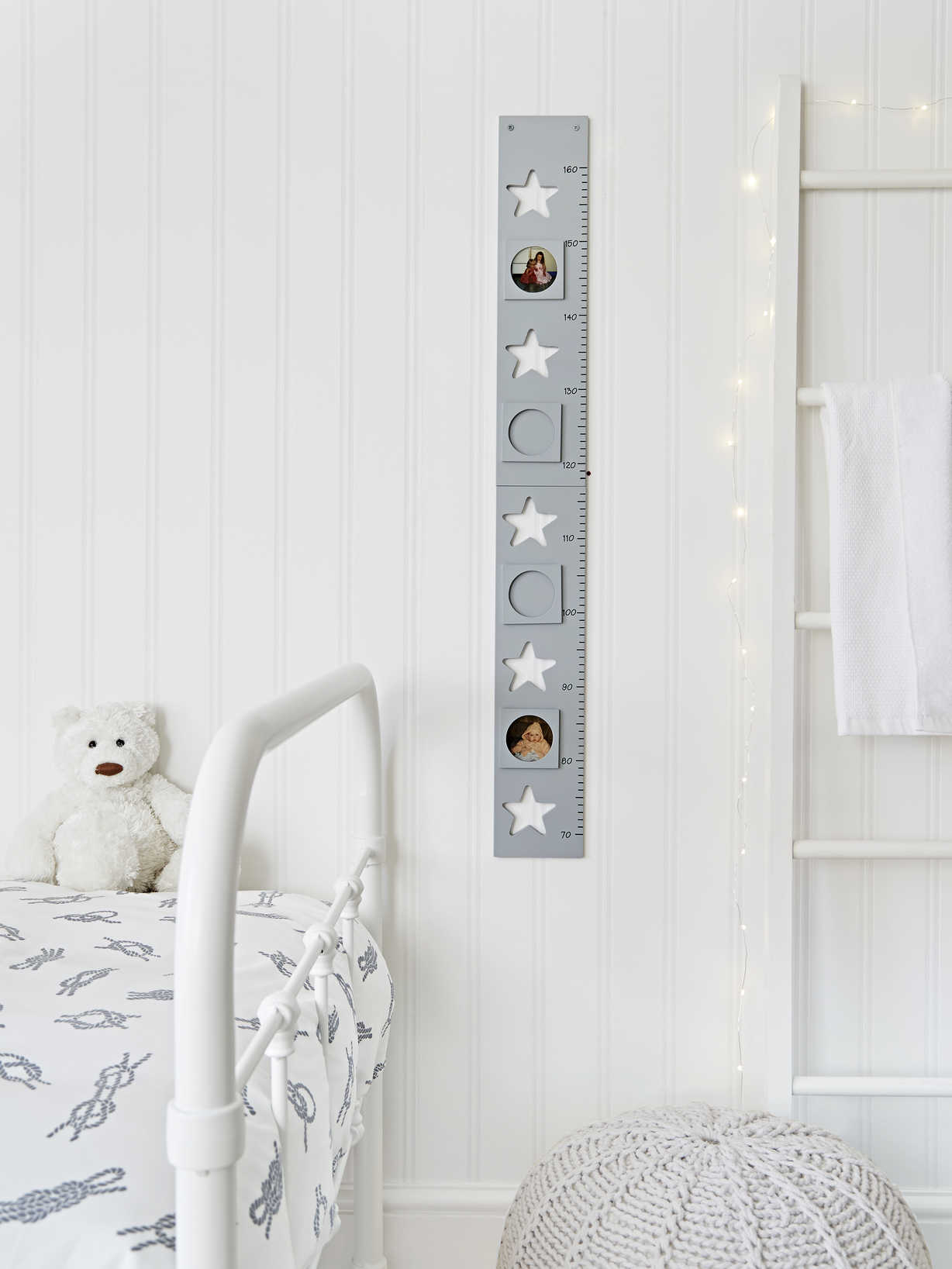 Nordic House Star Height Chart - Grey