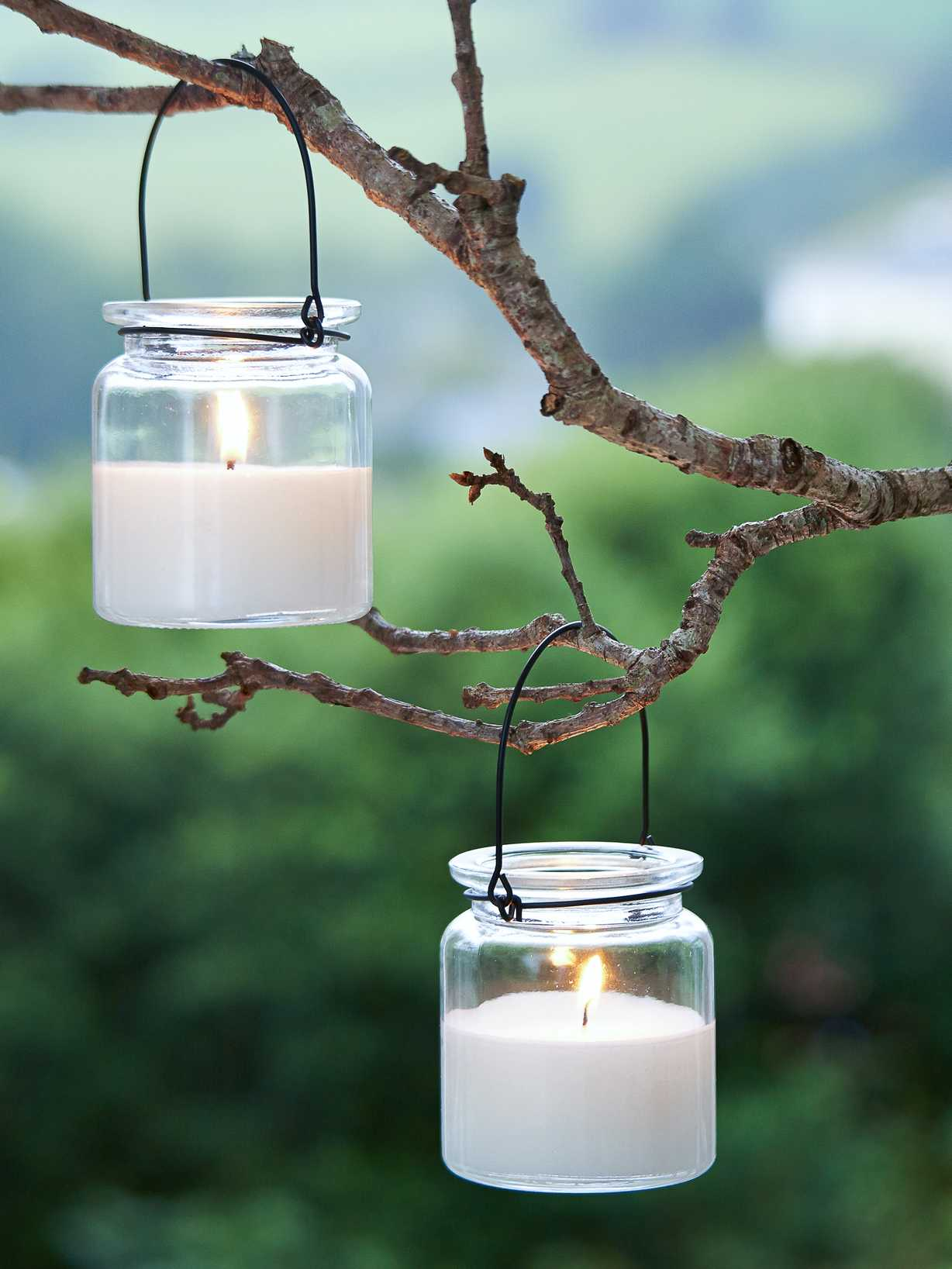 Nordic House Hanging Memory Candle