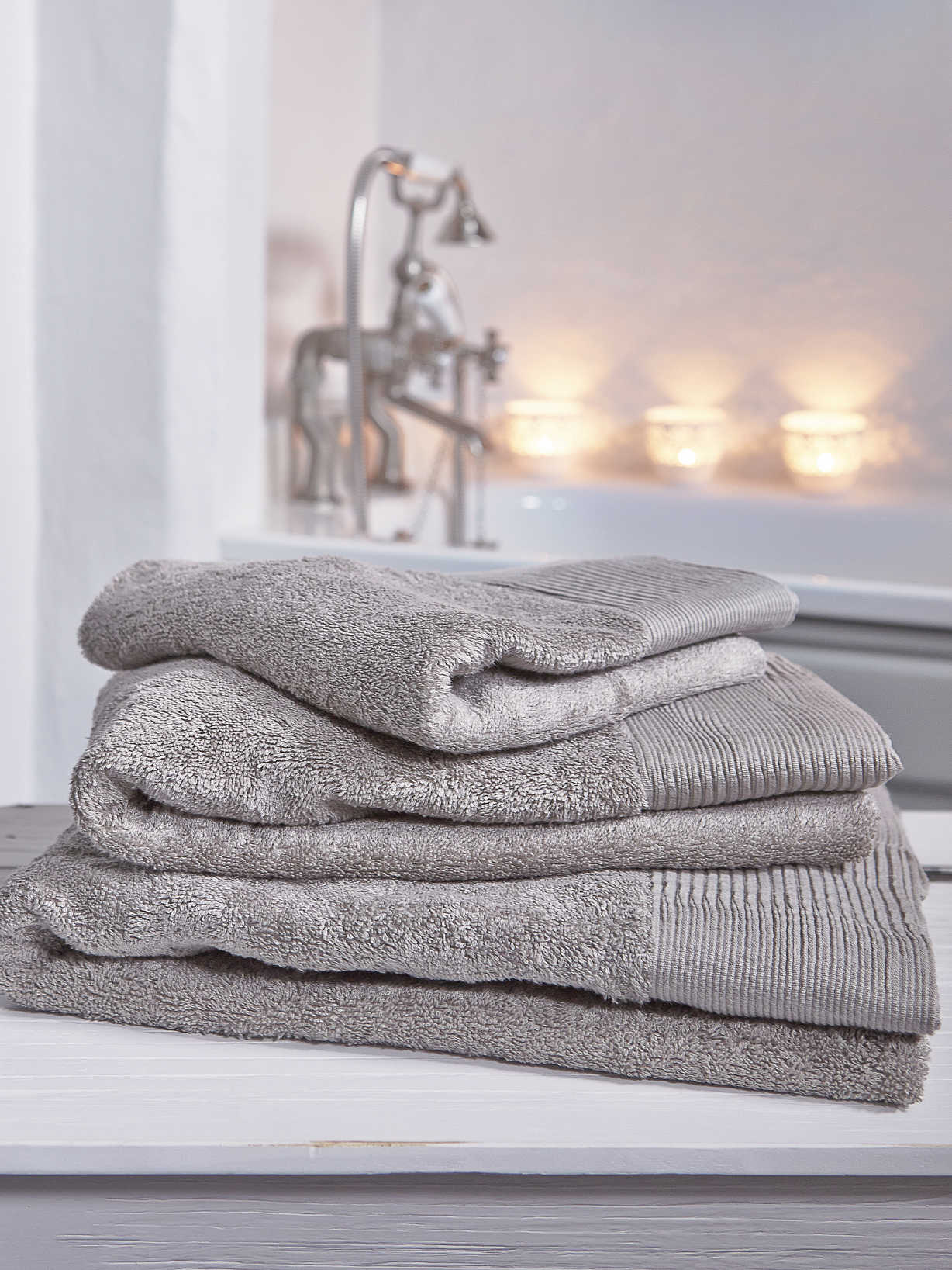 Nordic House Luxurious Soft Towels - Natural