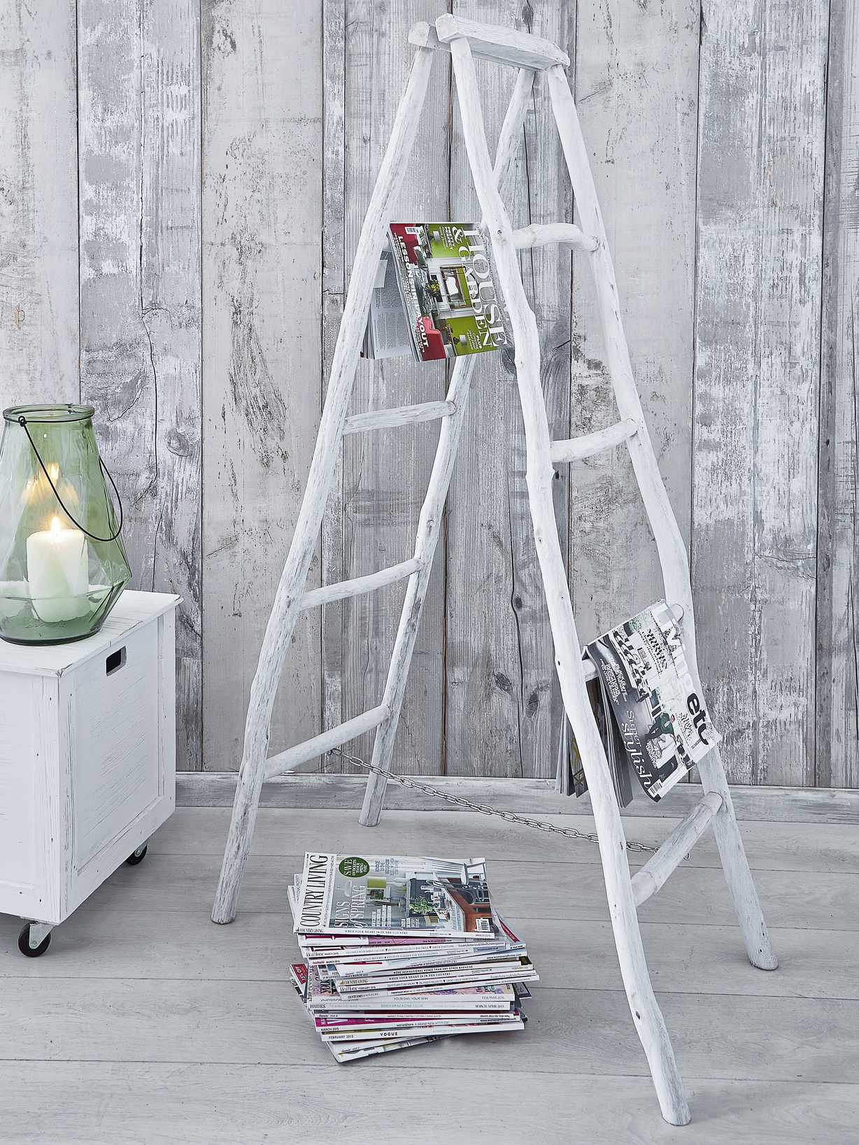 Nordic House Decorative Bamboo Ladder