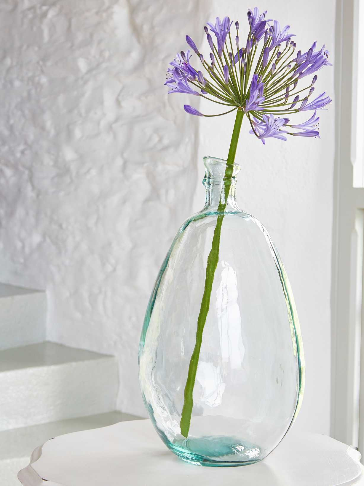 Nordic House Recycled Glass Bottle - L