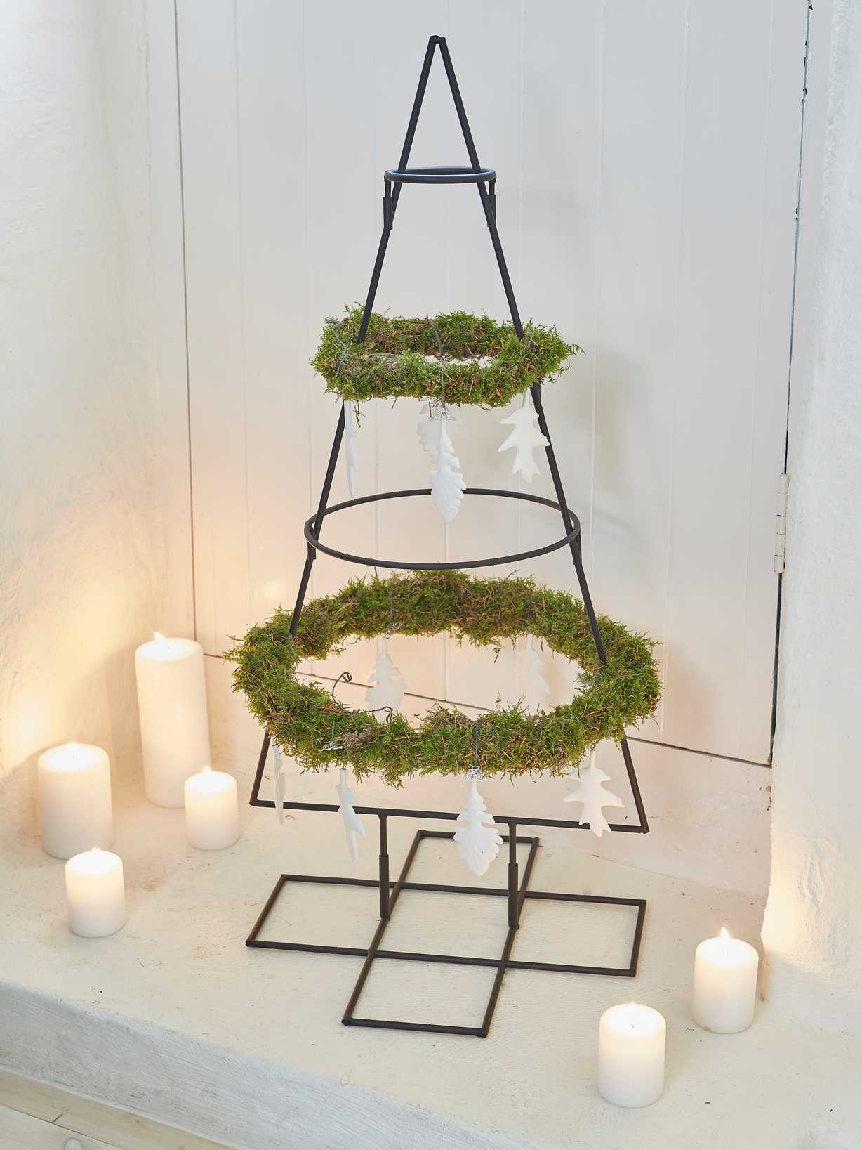 Nordic House Wrought Iron Christmas Tree - M