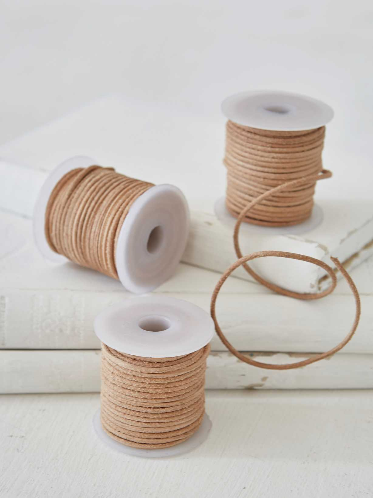 Nordic House Leather String Bobbin - Mini