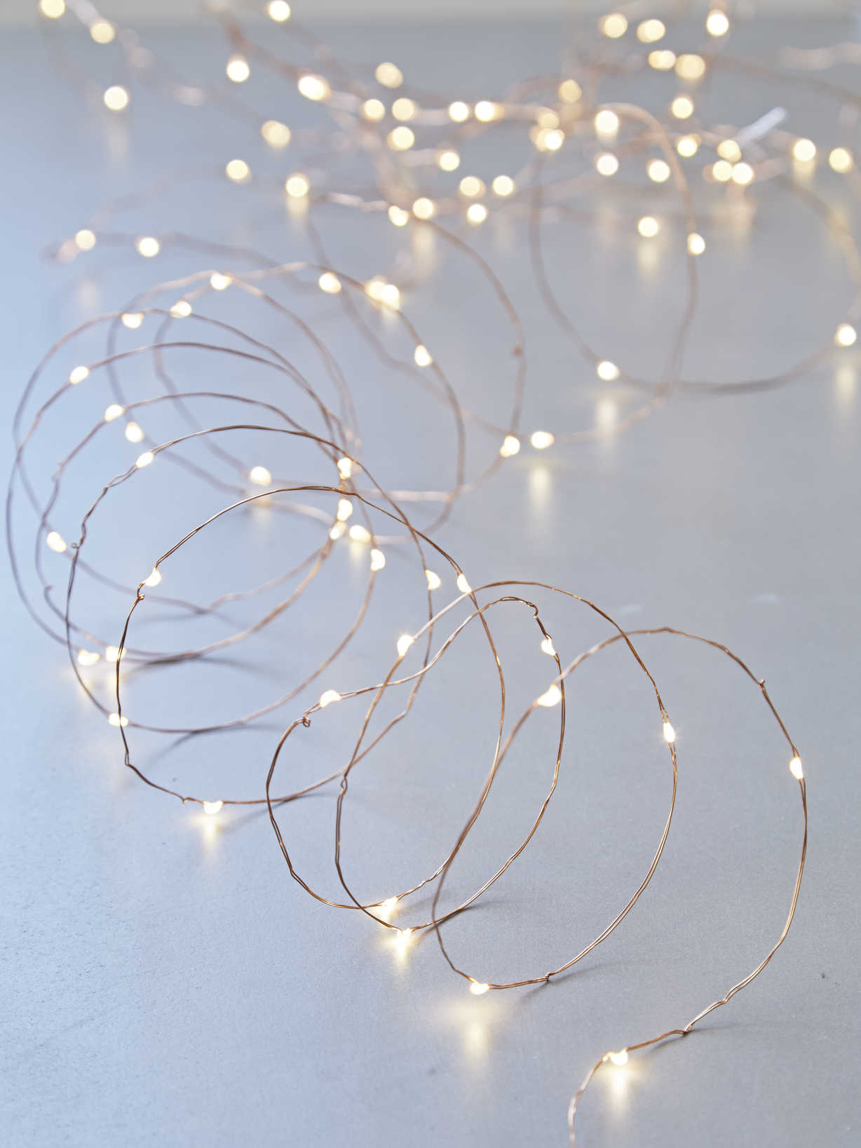 Nordic House Copper Wire LED Lights