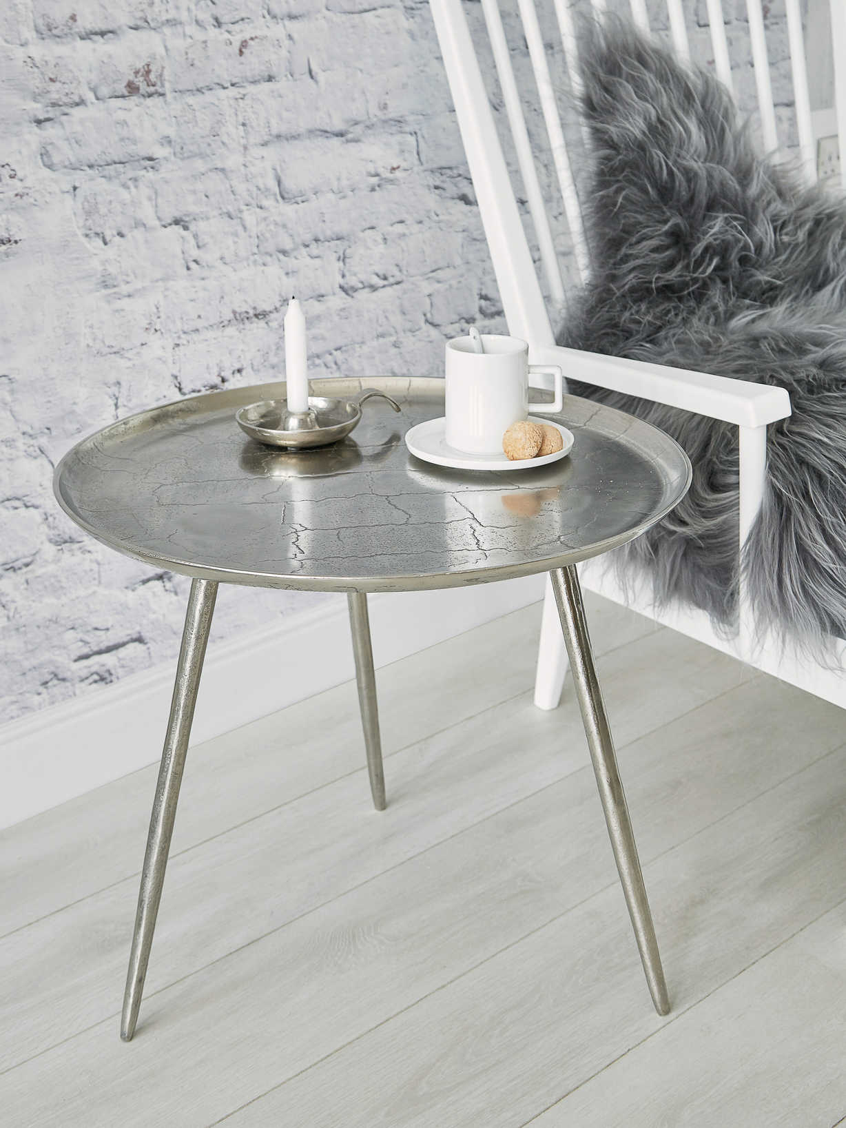 Nordic House Cast Aluminium Table