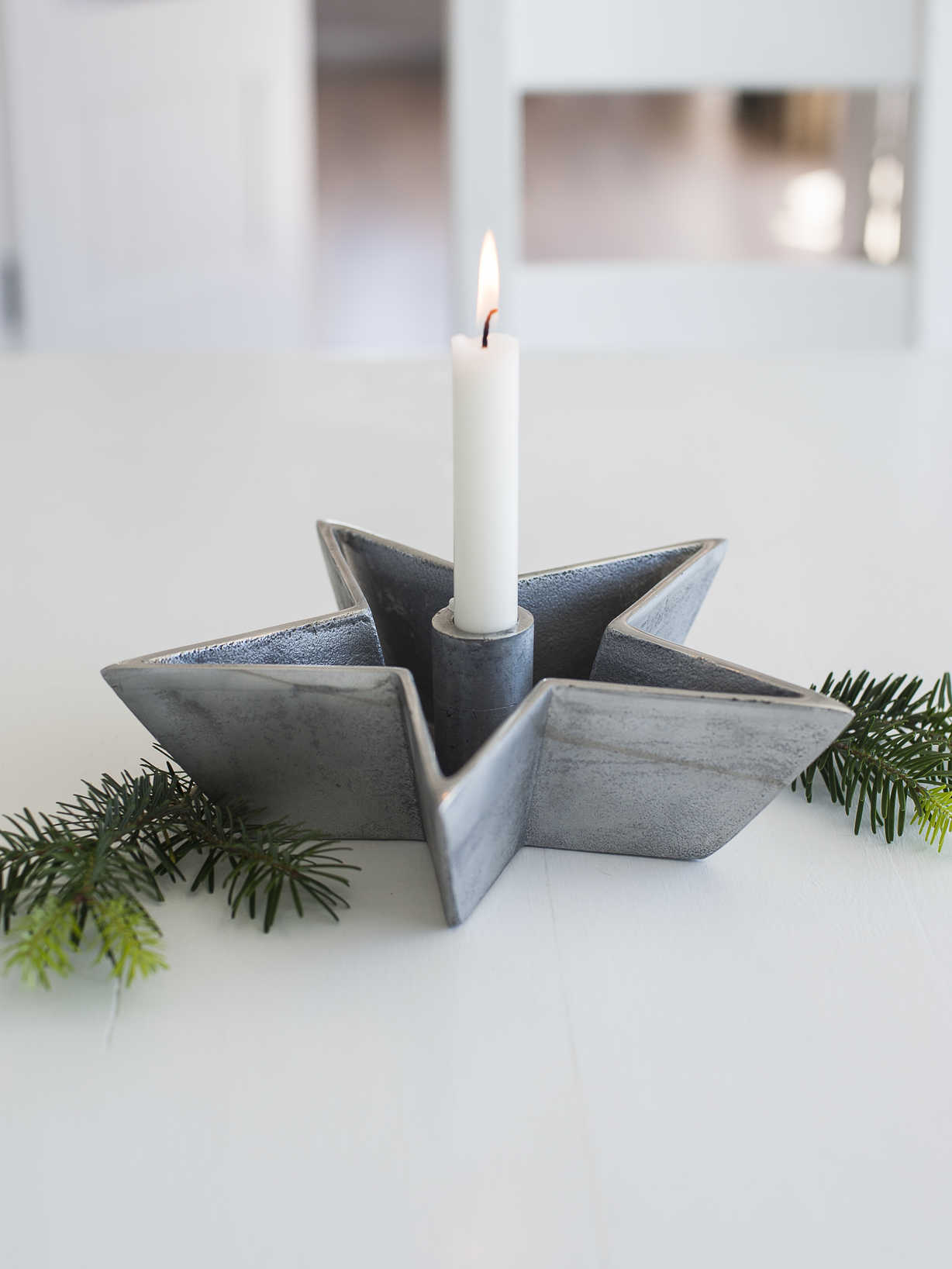 Nordic House Star Candle Dish