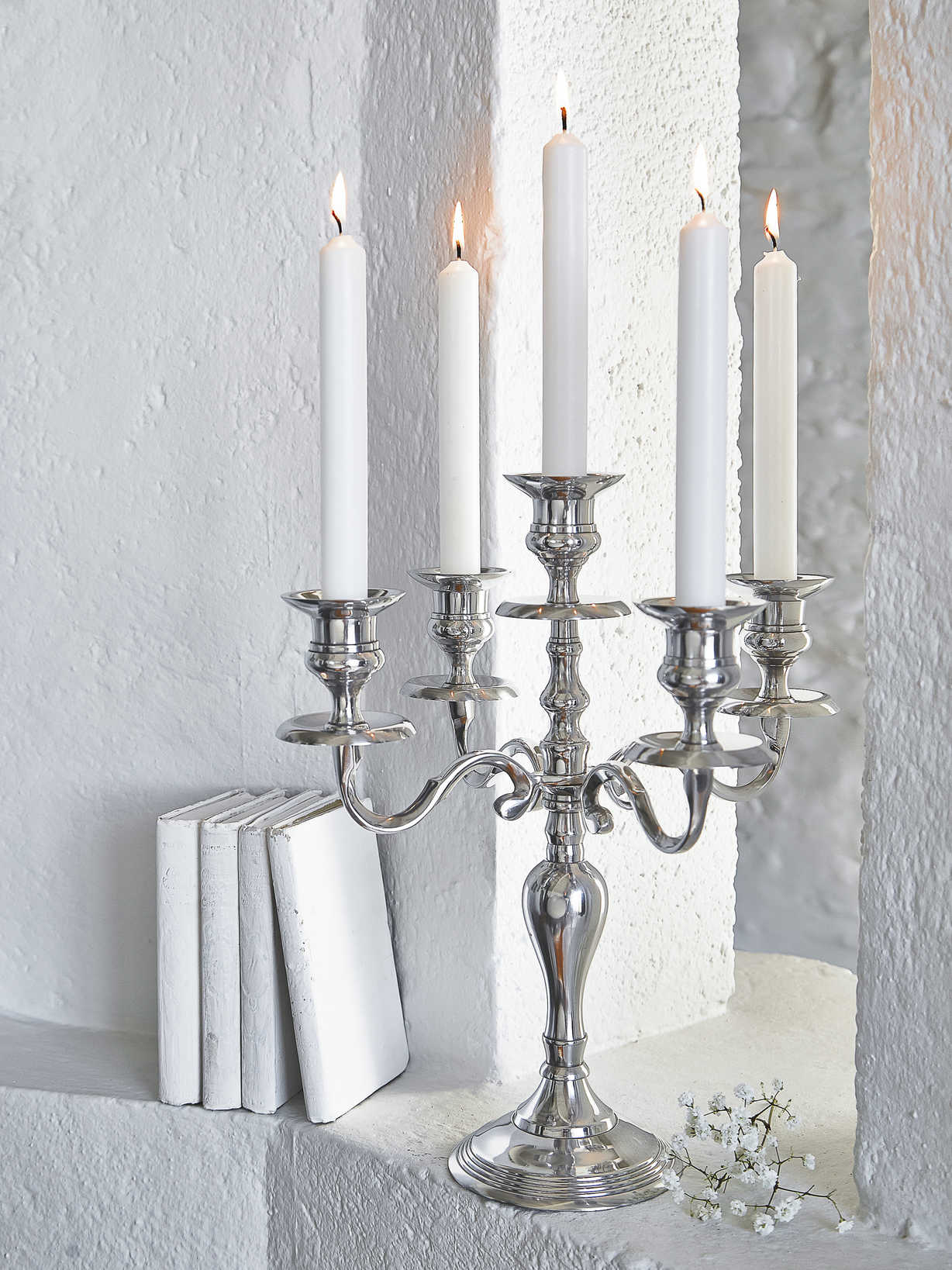 Nordic House Candelabra 5 arm