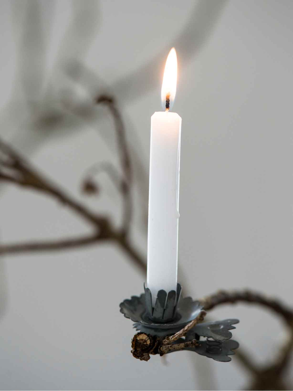Nordic House Christmas Tree Candle Clips
