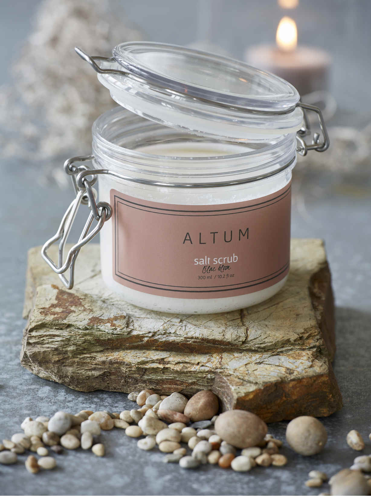 Nordic House Altum Salt Scrub - Lilac Bloom
