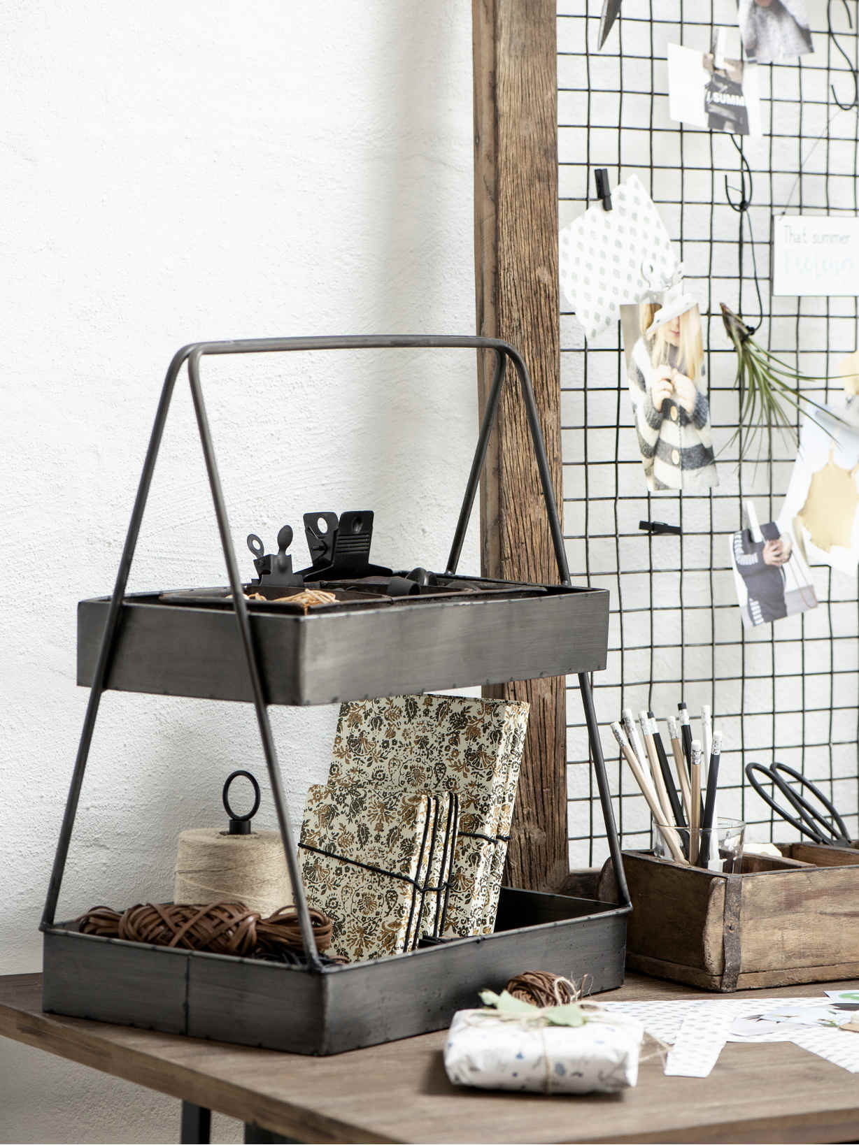 Nordic House Vintage Storage Rack