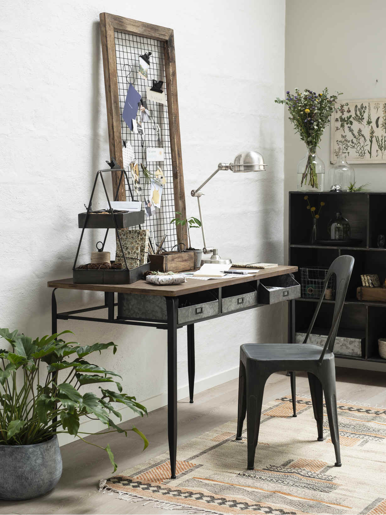 Nordic House Industrial Table