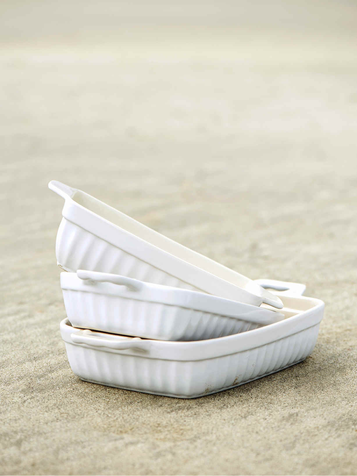 Nordic House Oven Dish - White