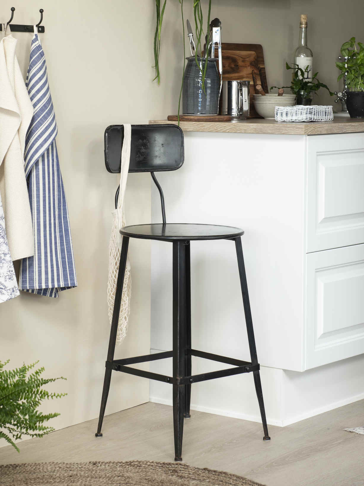 Nordic House Industrial Bar Stool