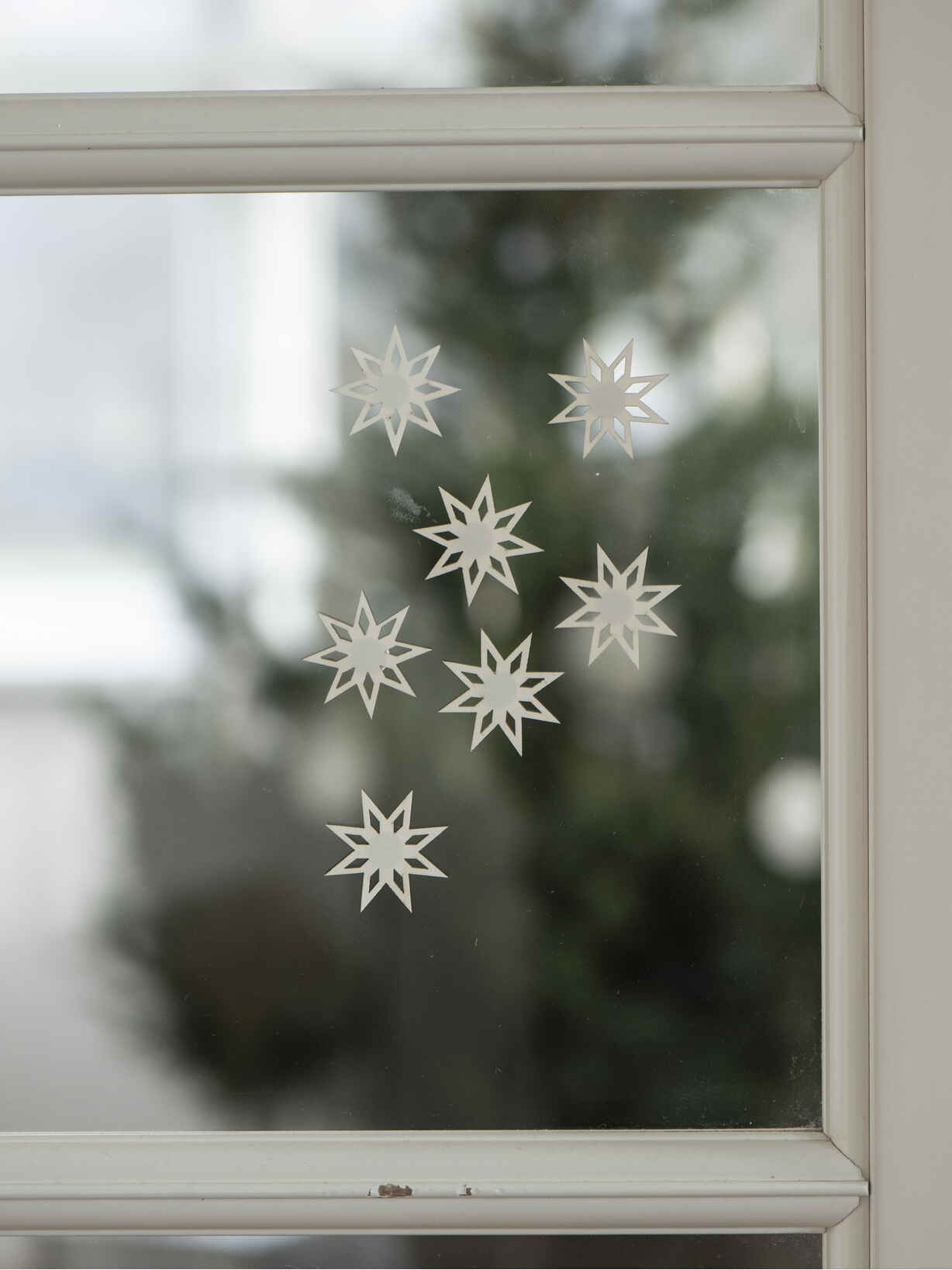 Nordic House Snowflake Window Stickers