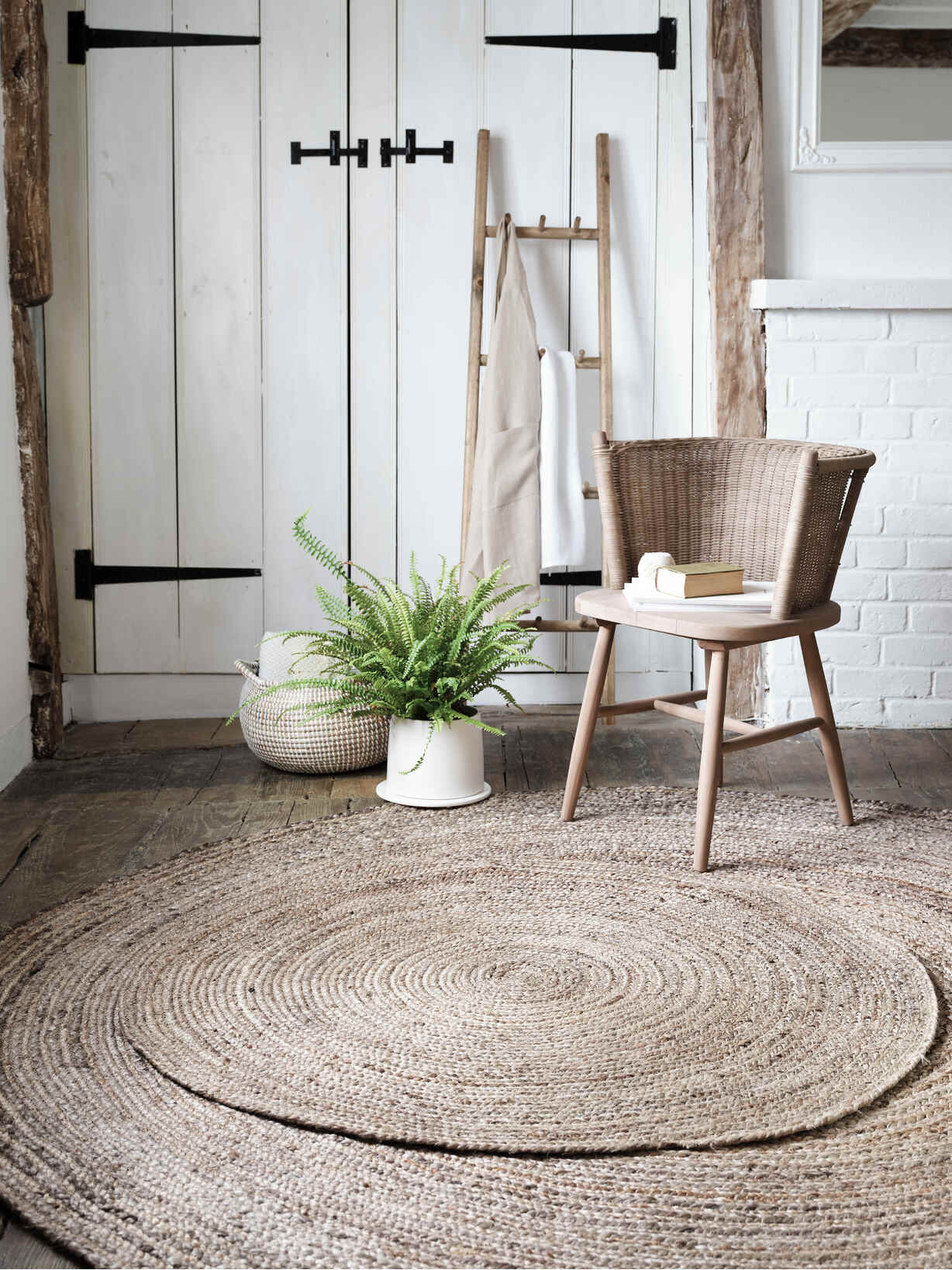 Nordic House Round Jute Rugs