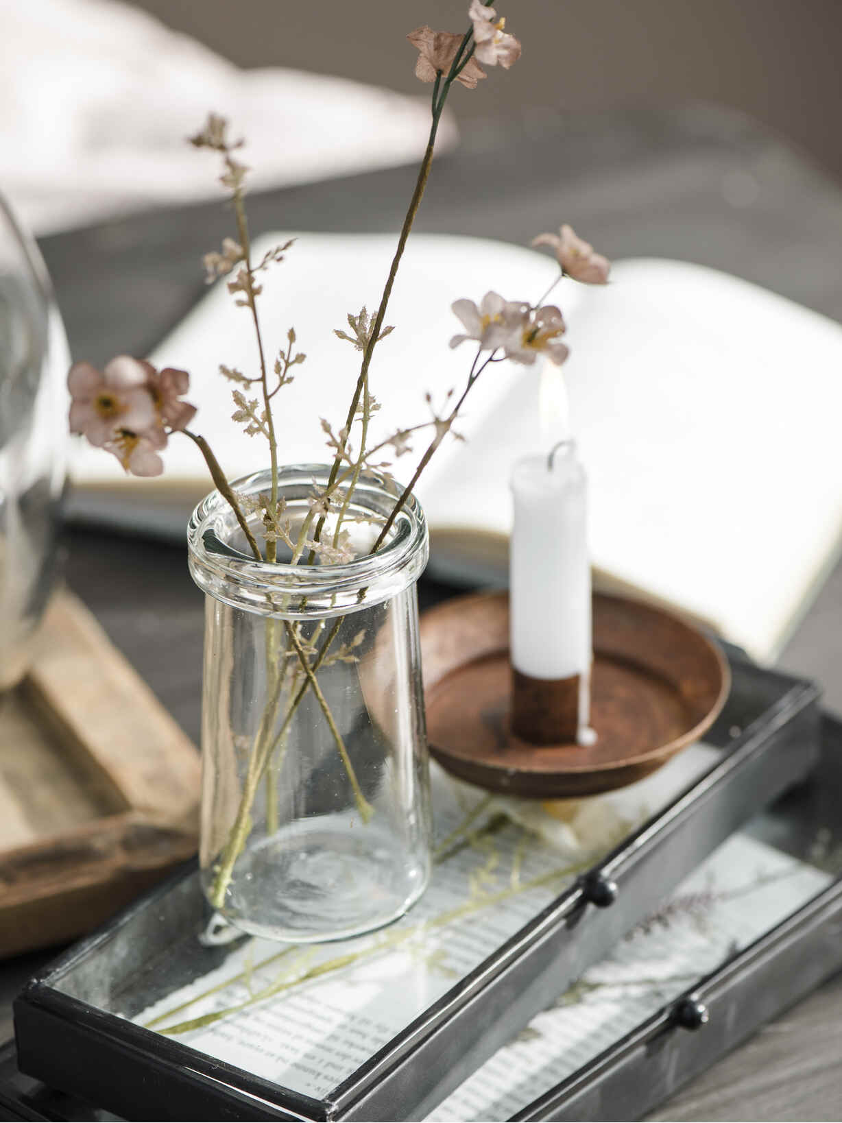 Nordic House Recycled Glass Vases