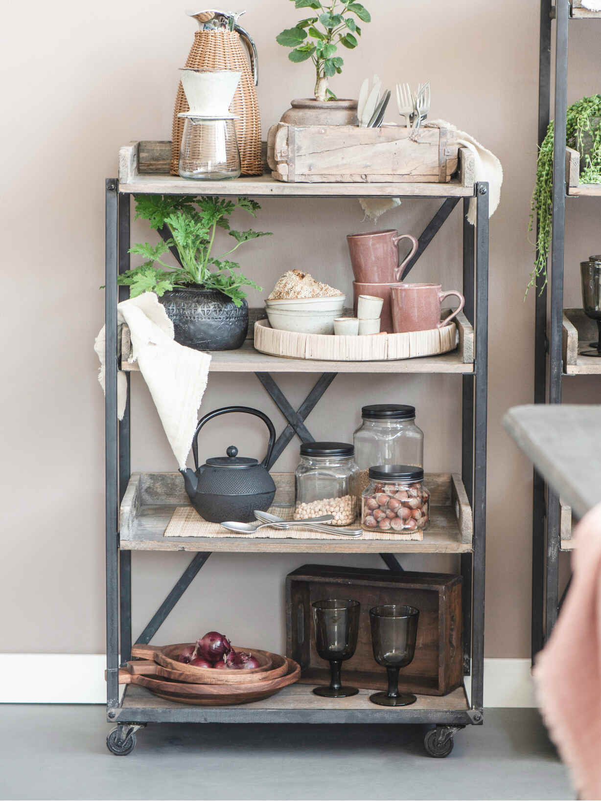 Nordic House Industrial Reclaimed Wood Unit