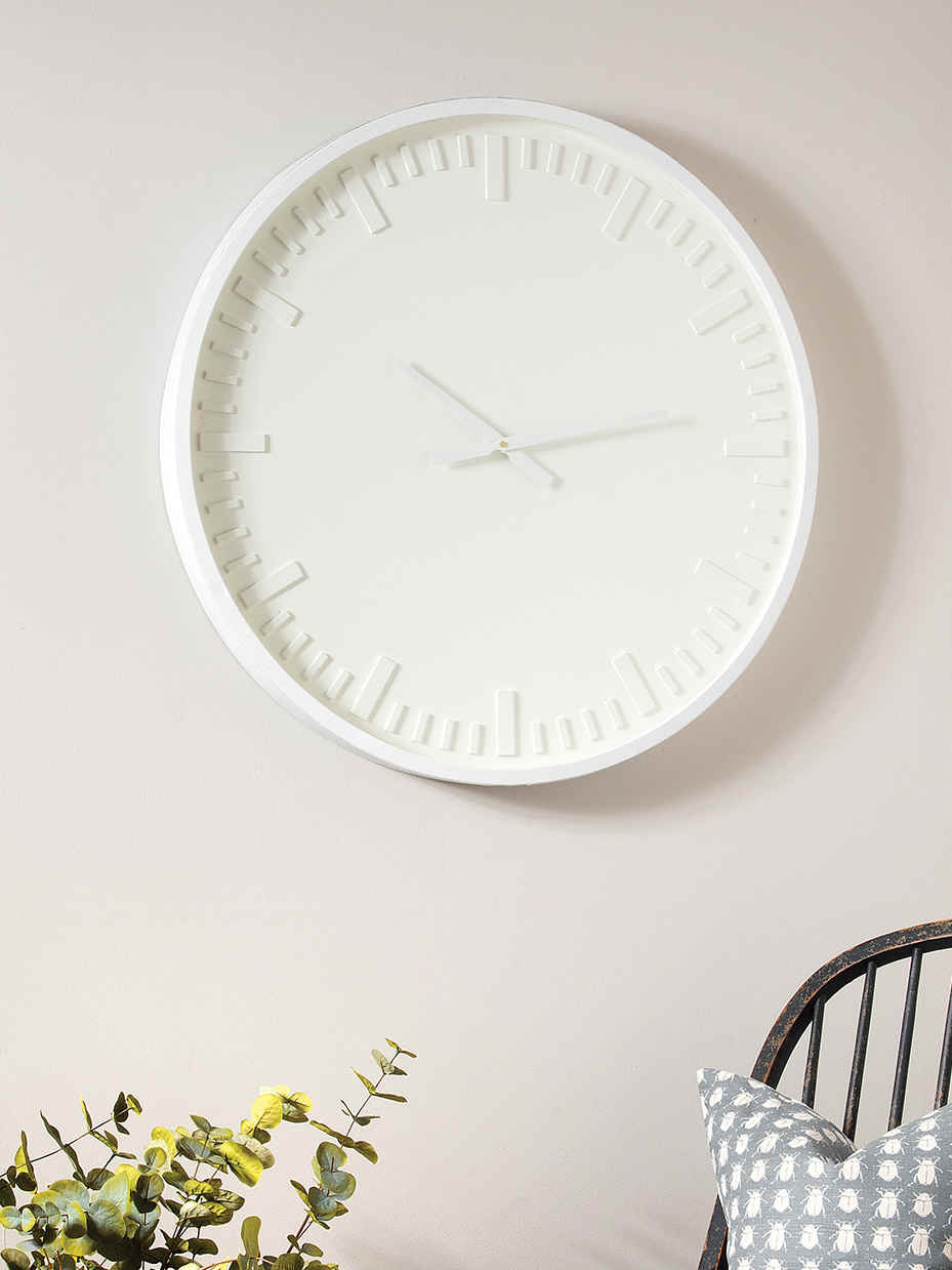 Nordic House Large Contemporary Wall Clock