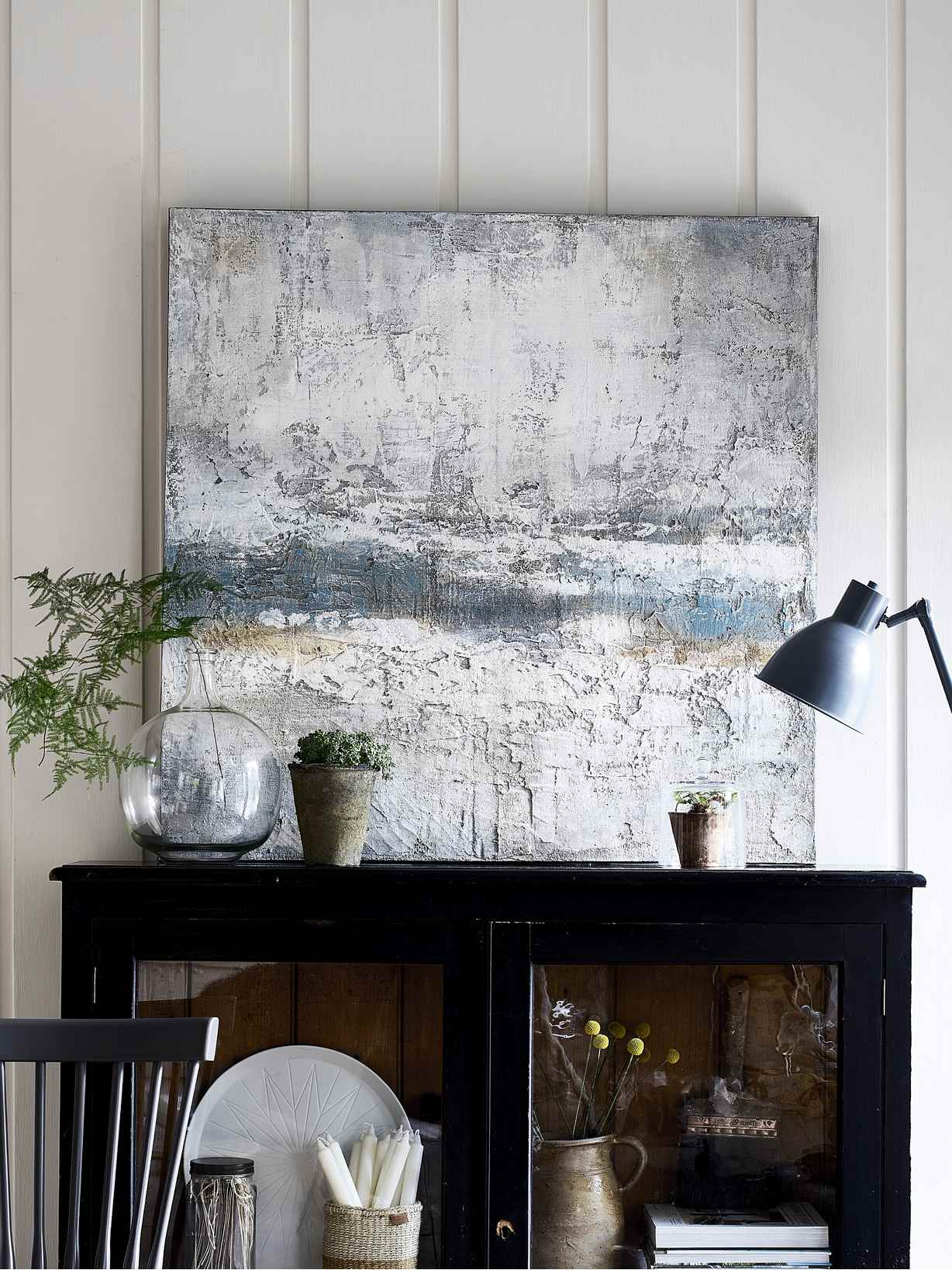Nordic House Hand Painted Wall Art