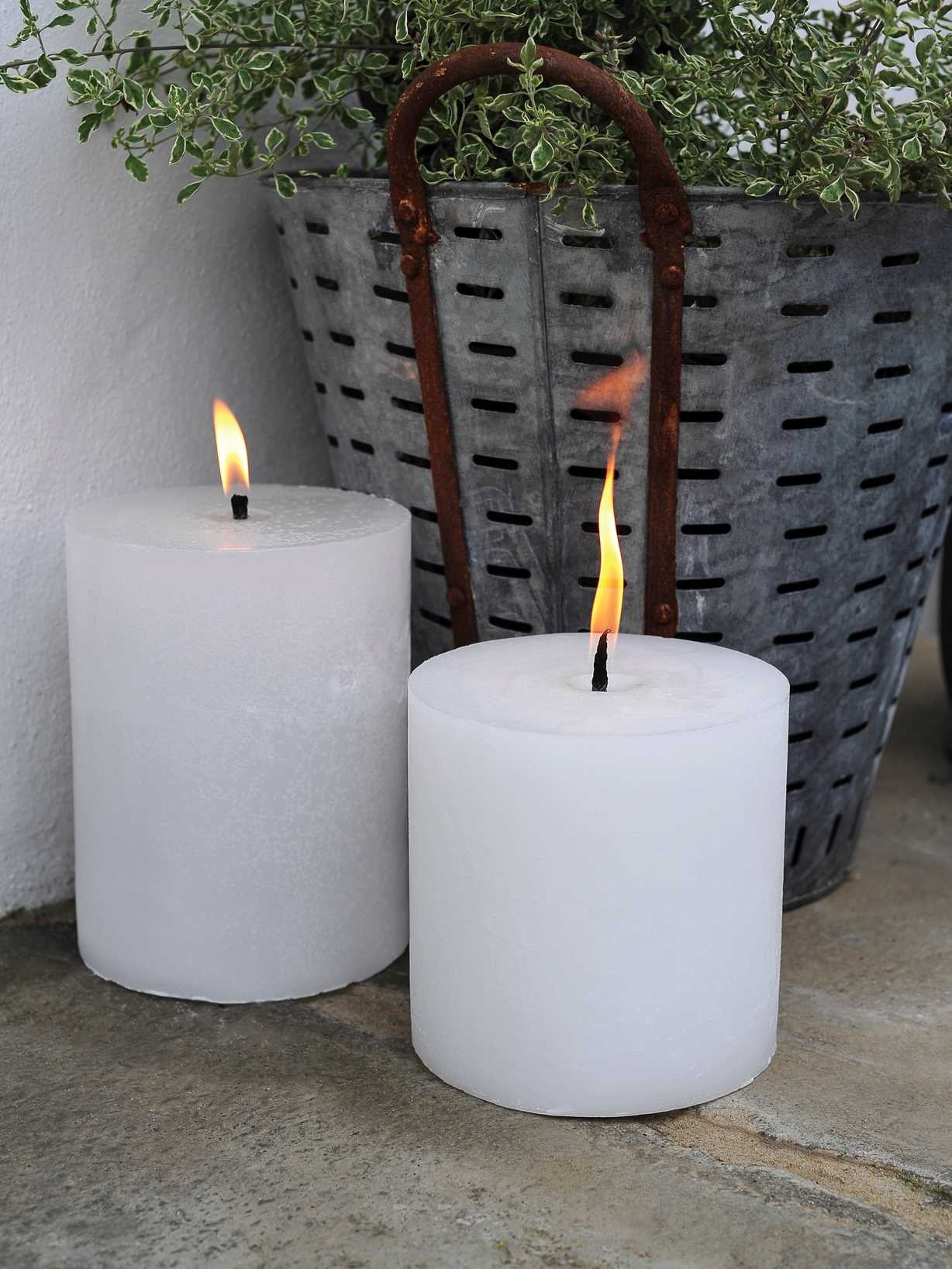 Nordic House Outdoor Garden Candles