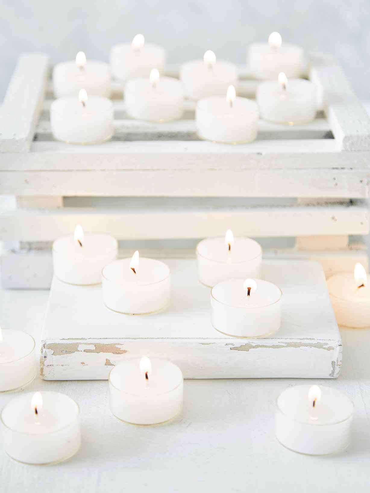 Nordic House Clear Cup Tealights