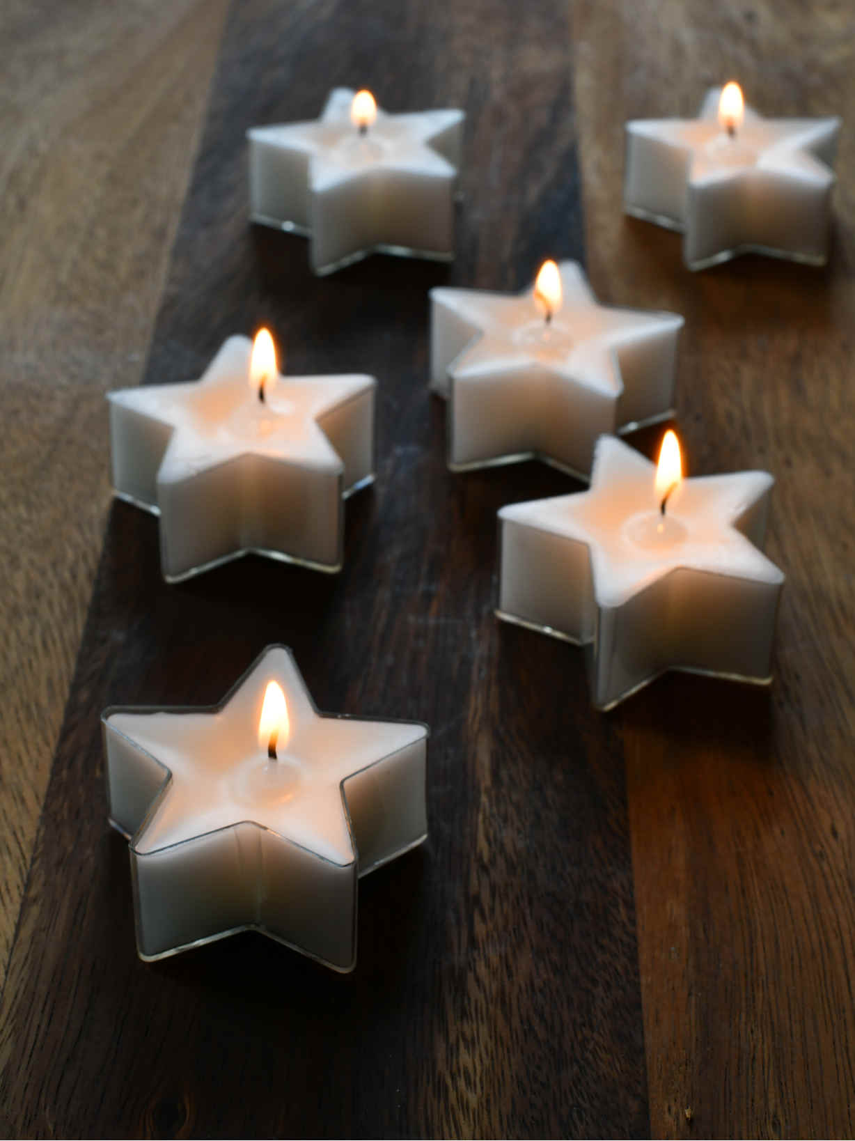 Nordic House Star Tealight Set