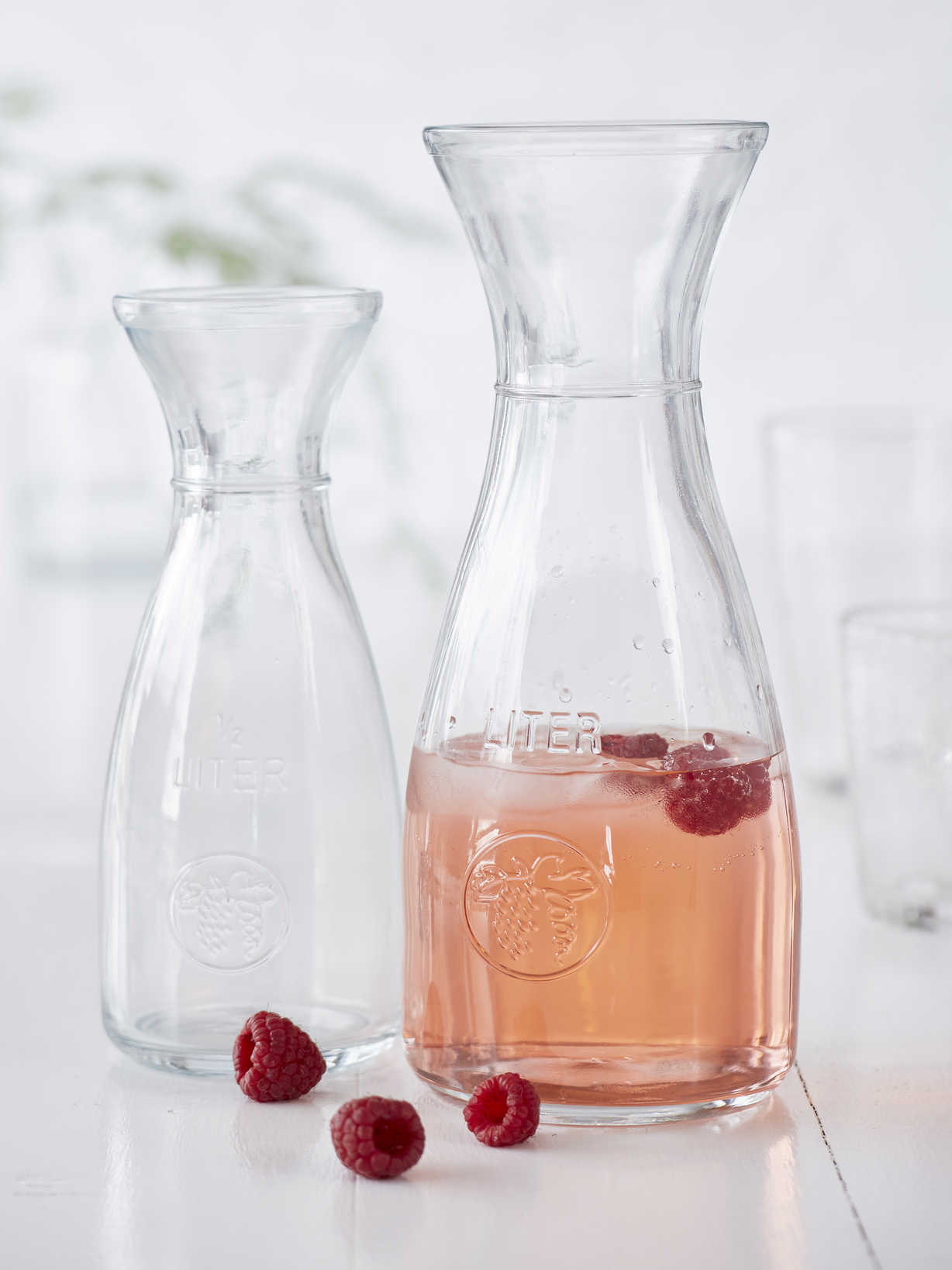 Nordic House Glass Bistro Carafes