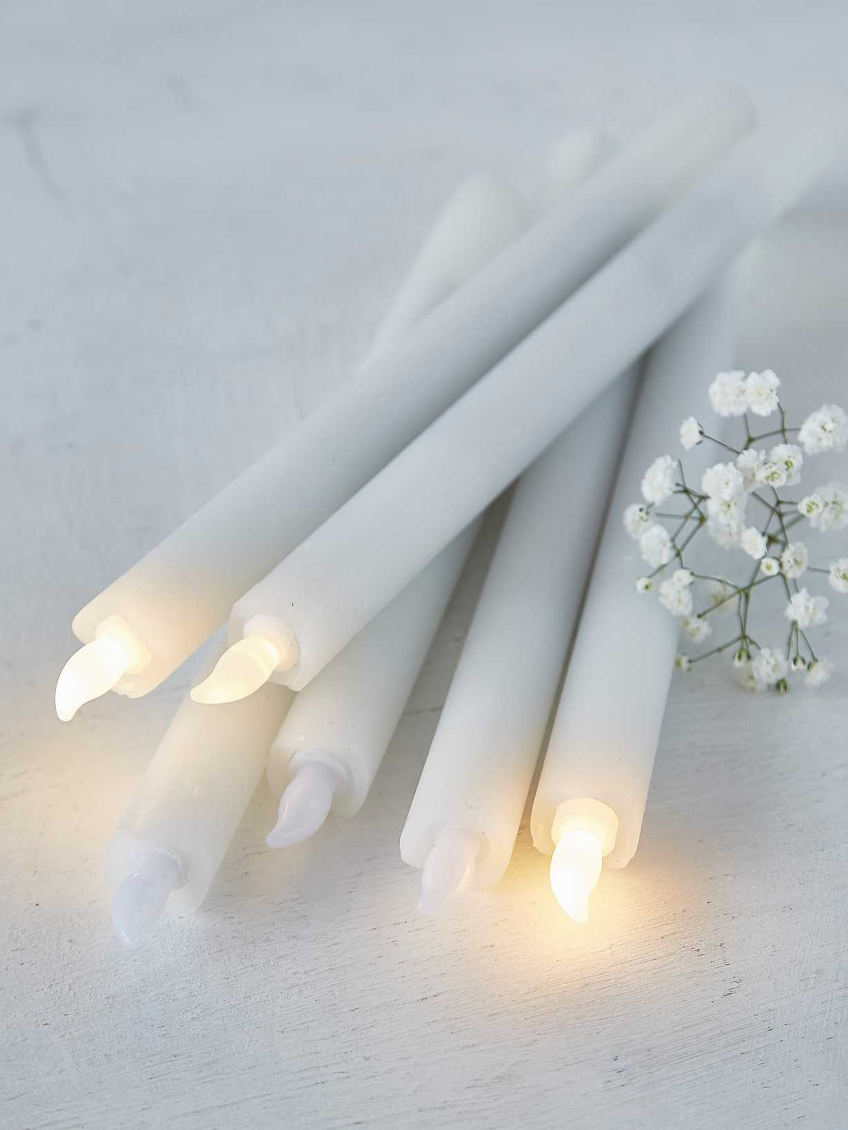 Nordic House LED Dinner Candle Set
