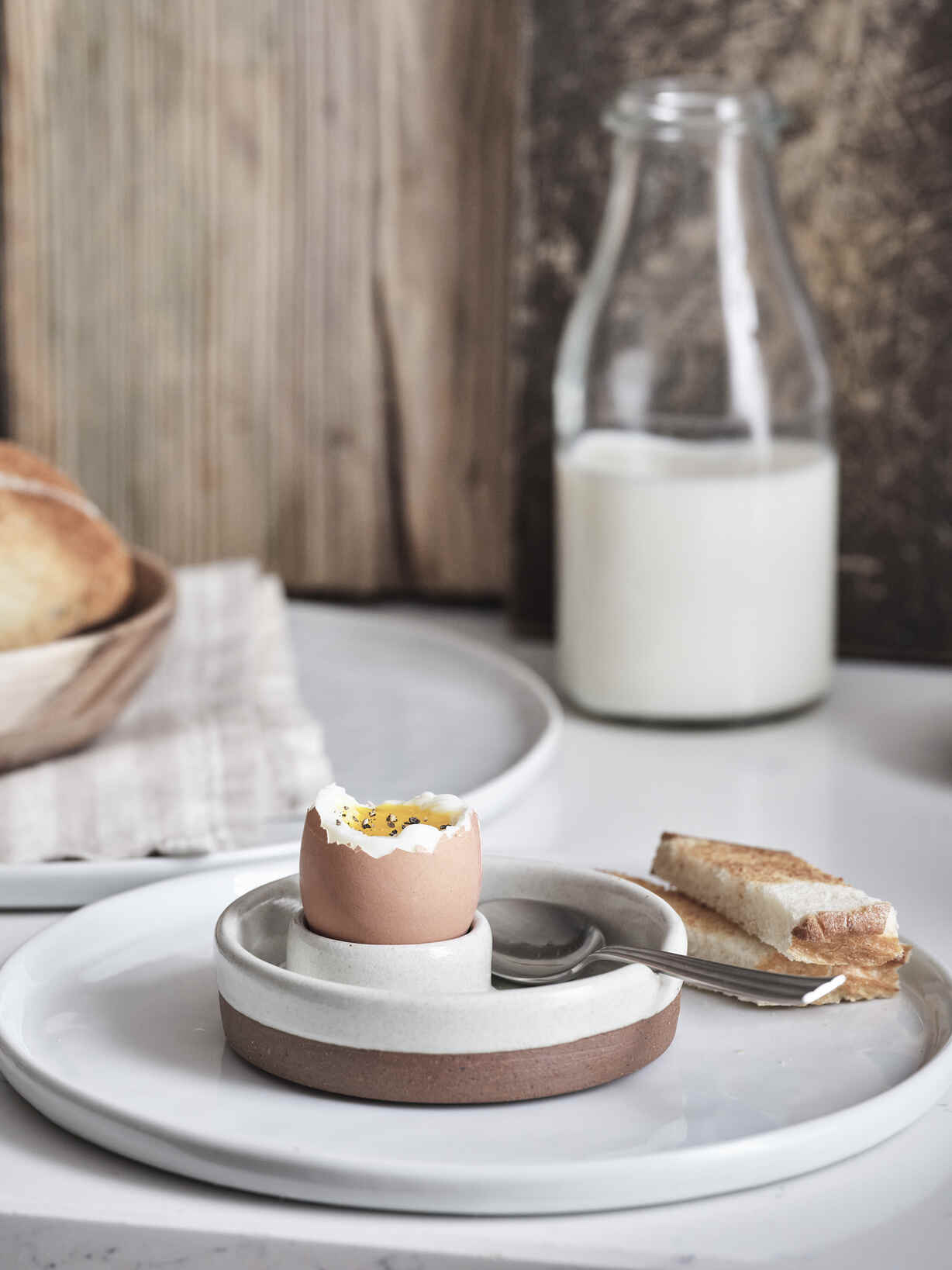 Nordic House Dillie Stoneware Egg Cup