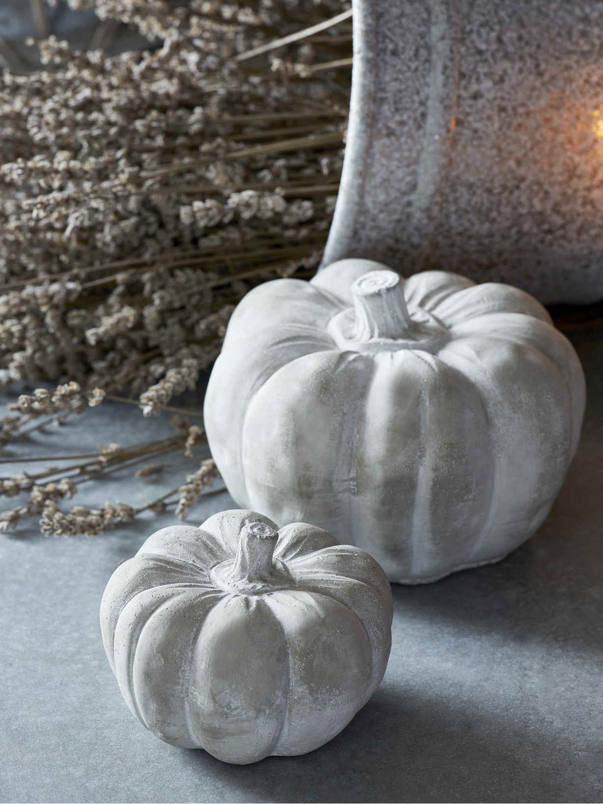 Nordic House Concrete Pumpkins