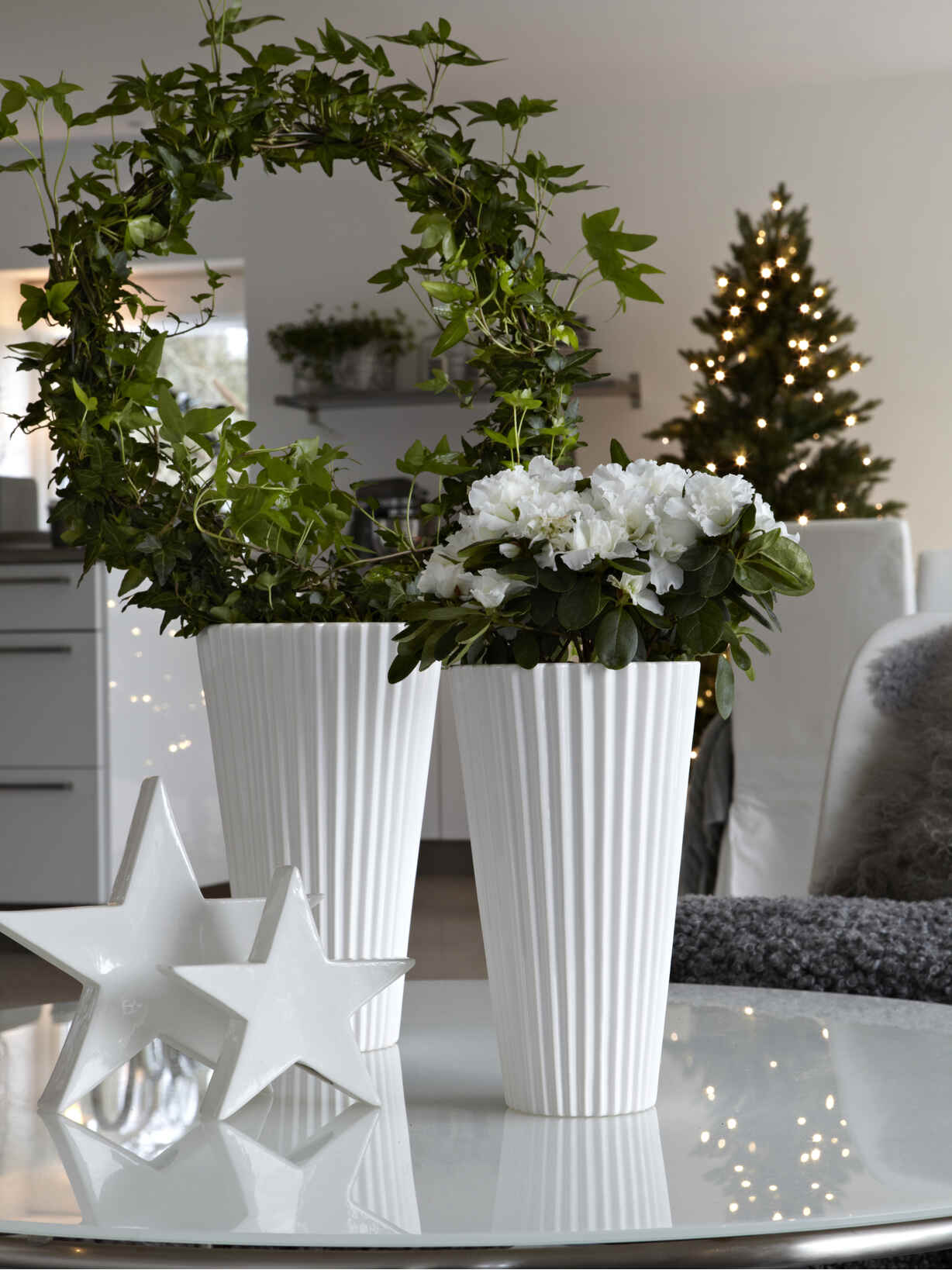 Nordic House Milla Tall Vase Set