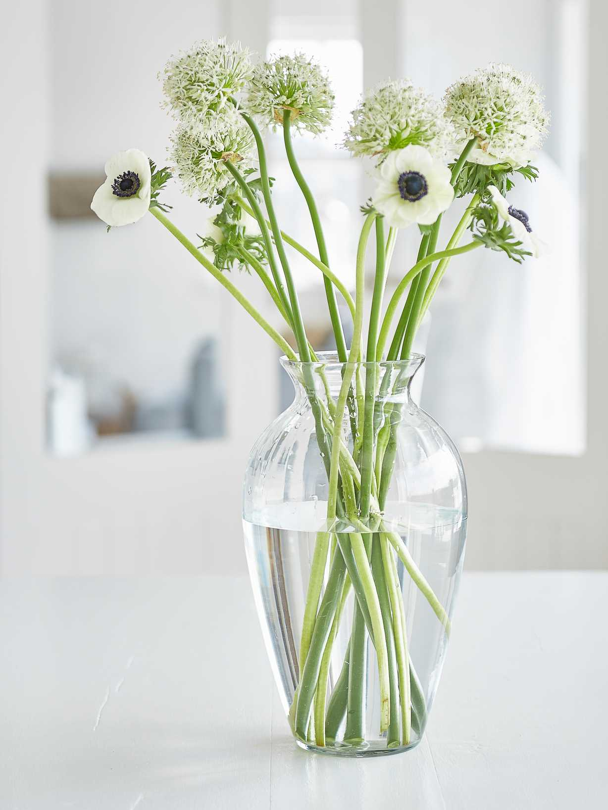 Nordic House Large Recycled Glass Vase