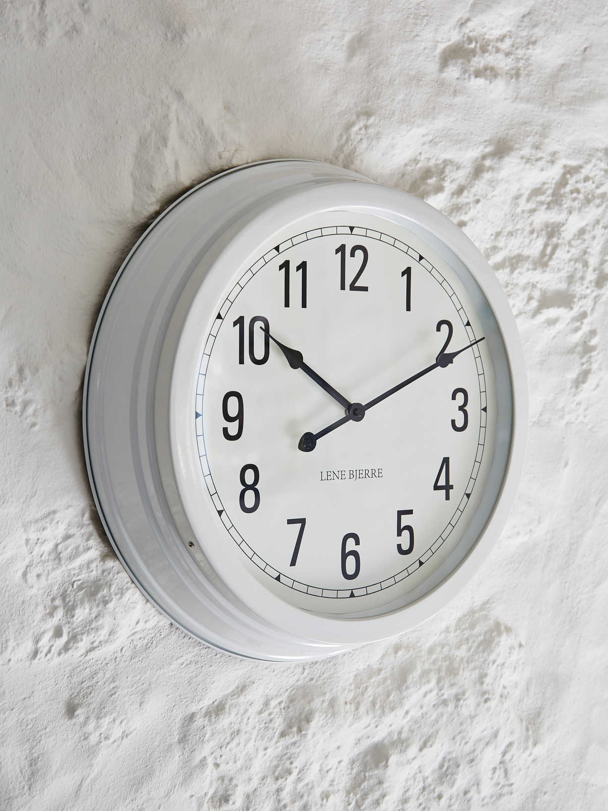 Nordic House White Wall Clock