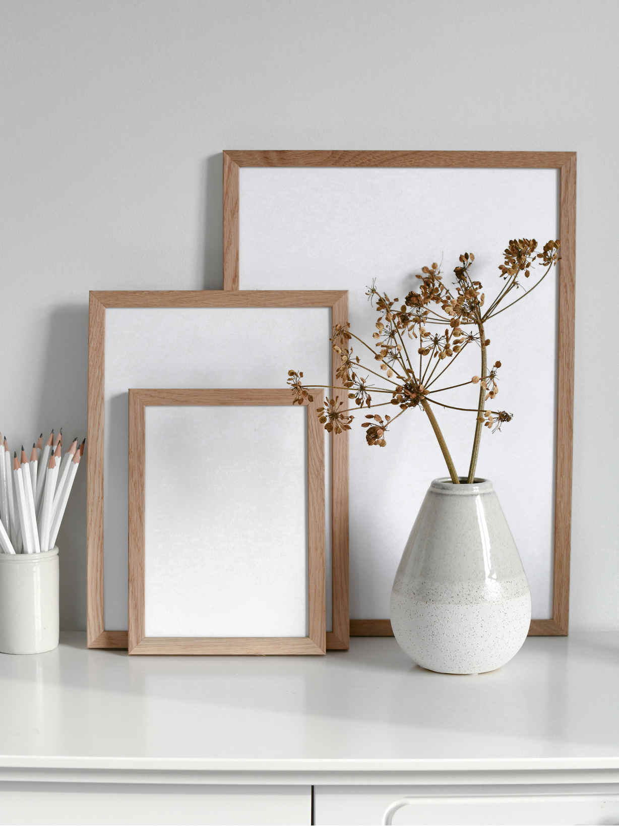 Nordic House Oak Picture Frame
