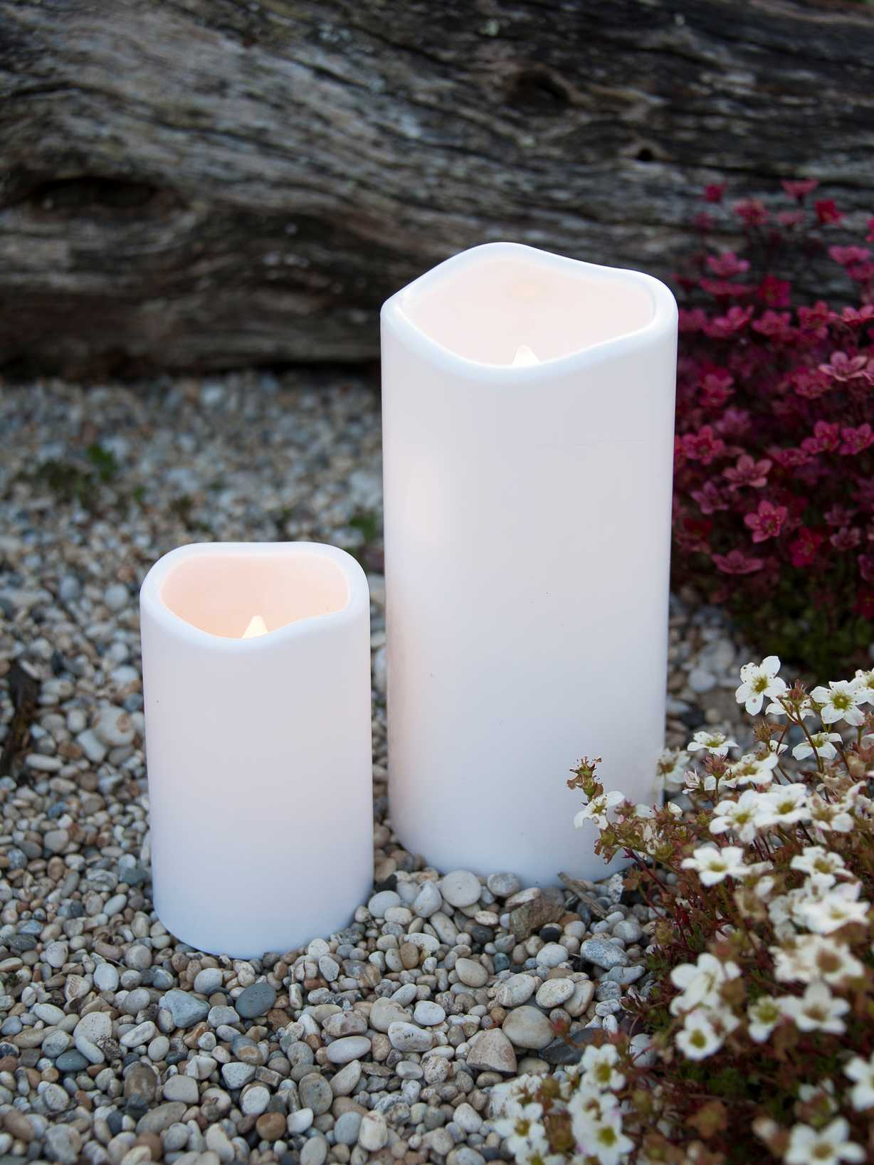 Nordic House Outdoor LED Candles