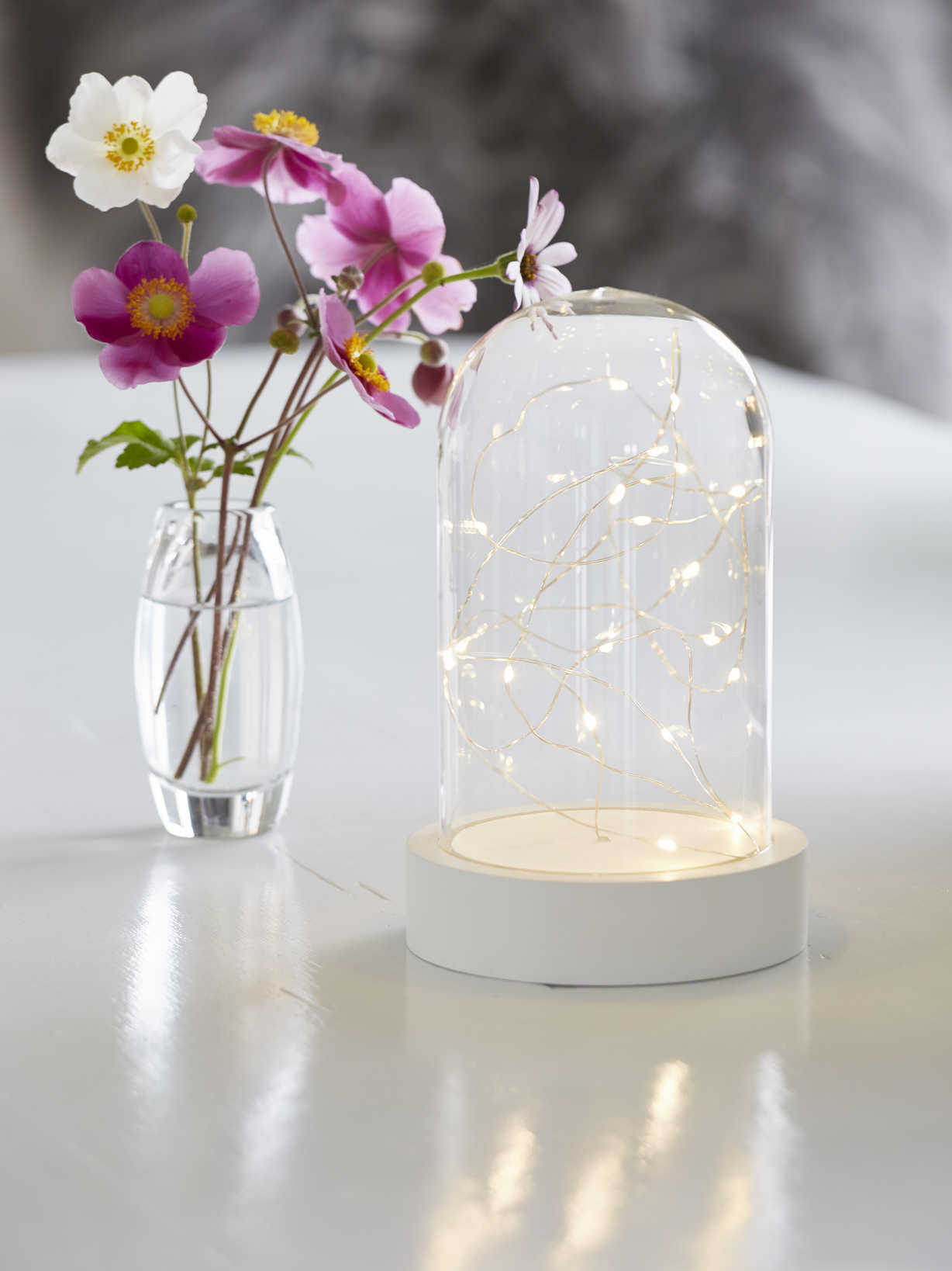 Nordic House LED Glass Dome