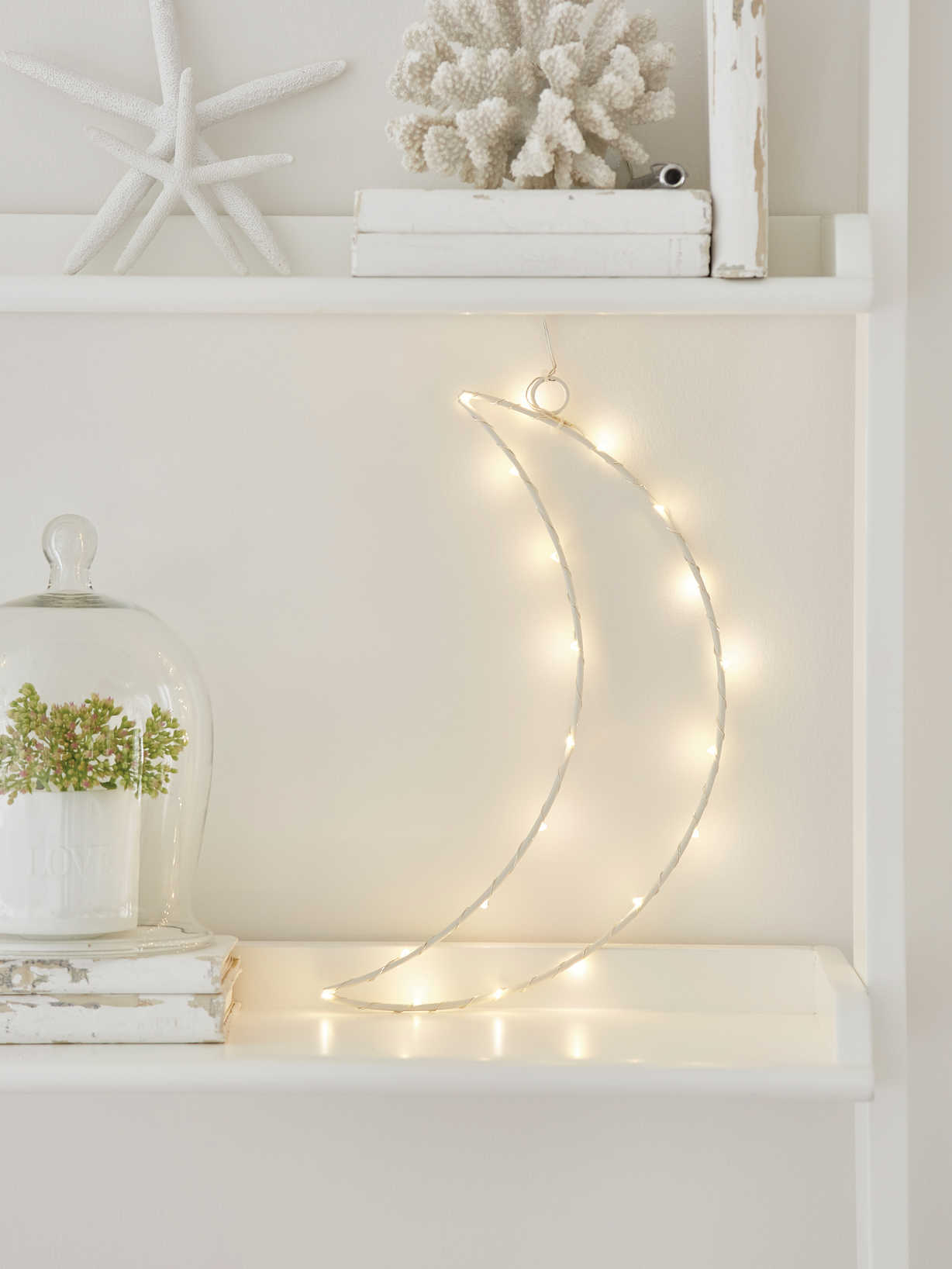 Nordic House LED Silhouette Moon