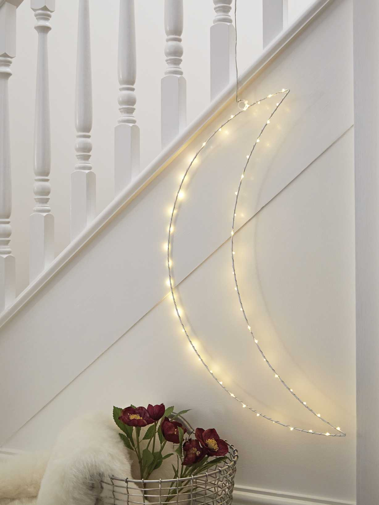 Nordic House LED Silhouette Moon - XL